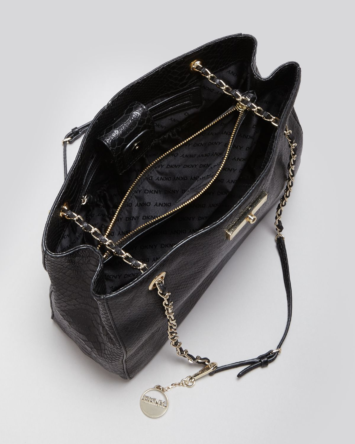 Black Leather Handbag Chain Strap Photos Eleventyone