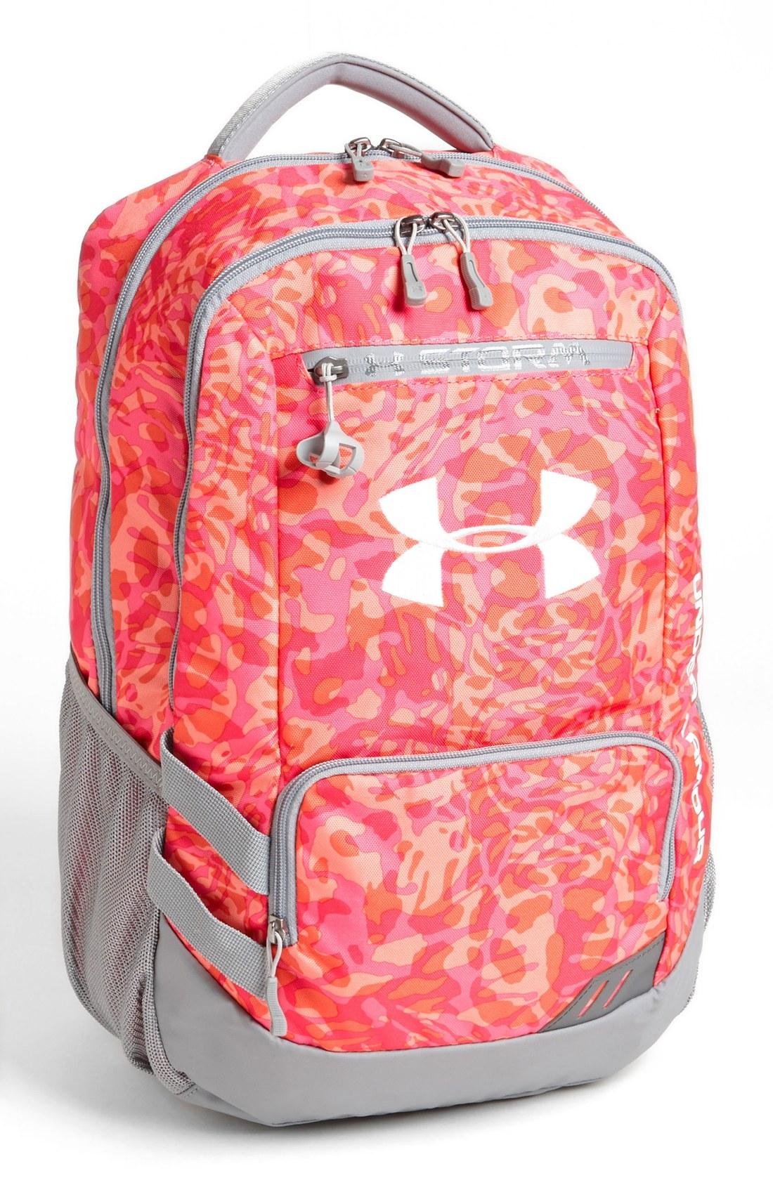 under armour hustle backpack in multicolor layer camo. Black Bedroom Furniture Sets. Home Design Ideas