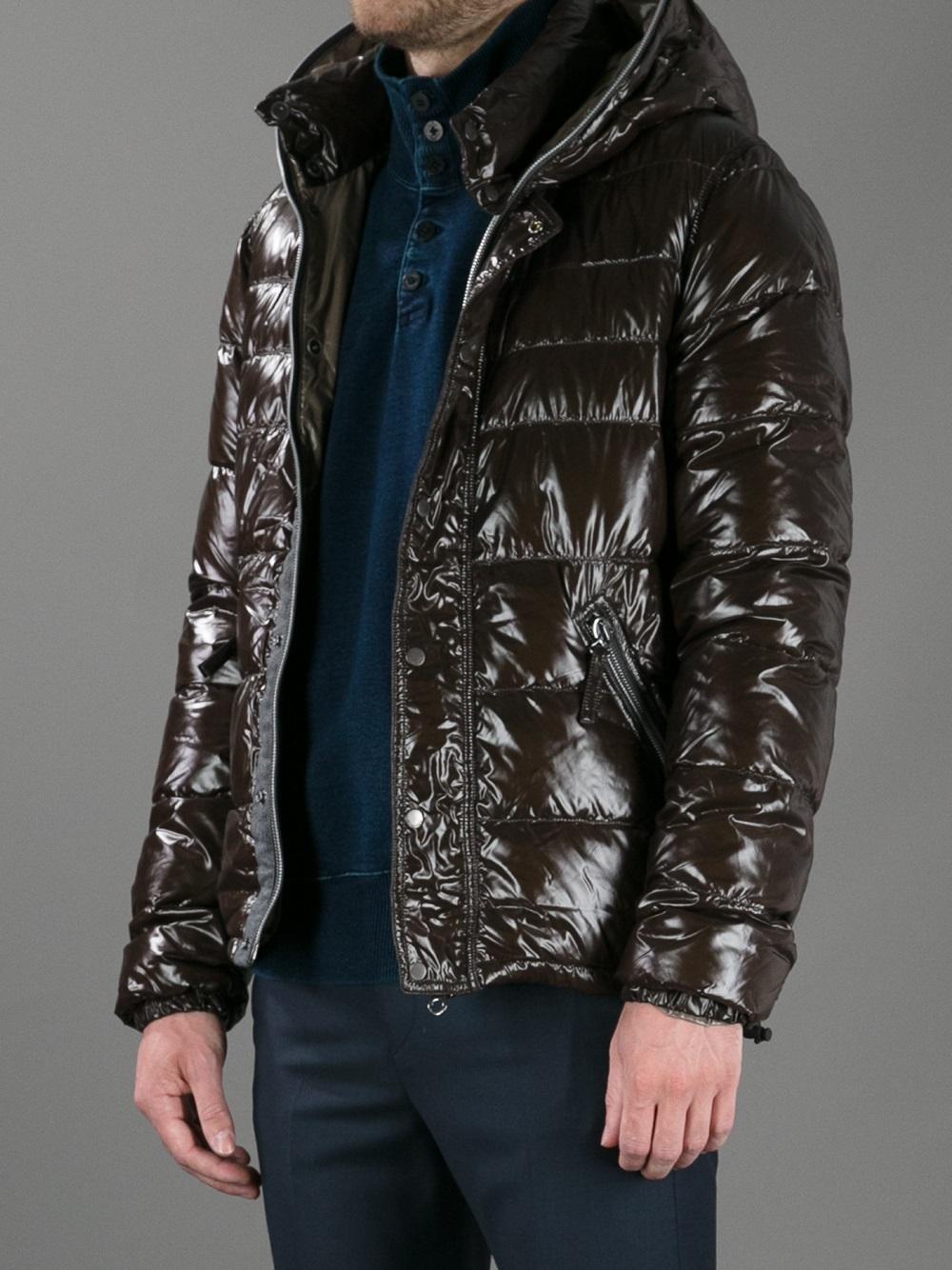 Duvetica Racio Padded Jacket in Brown for Men