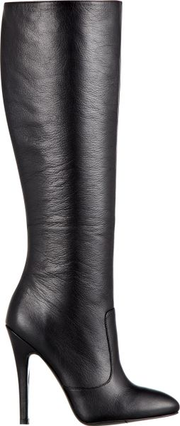 Nine West Braidy Boot in Black (BLACK LEATHER)