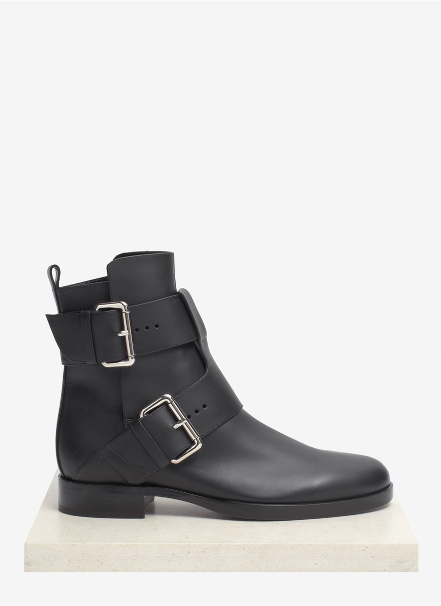 Pierre Hardy Leather Buckled Boots HsxP3Dyq