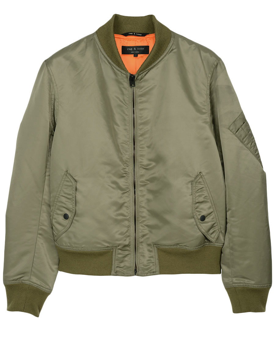 Lyst Rag Amp Bone Bastion Jacket In Green For Men