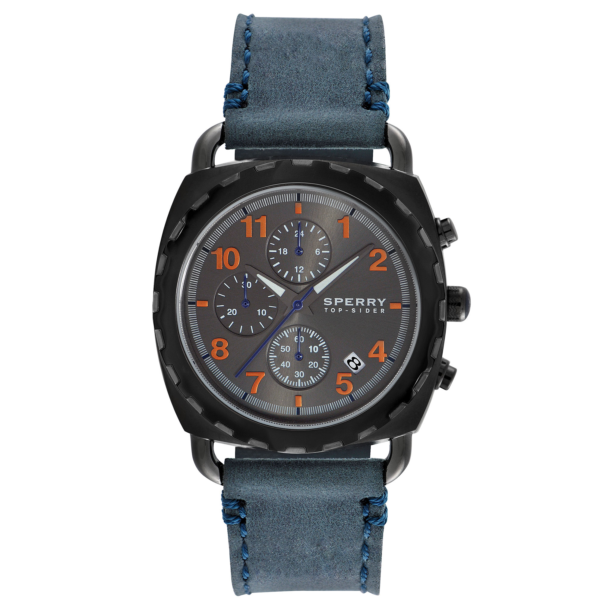 lyst sperry top sider mens chronograph mariner navy blue
