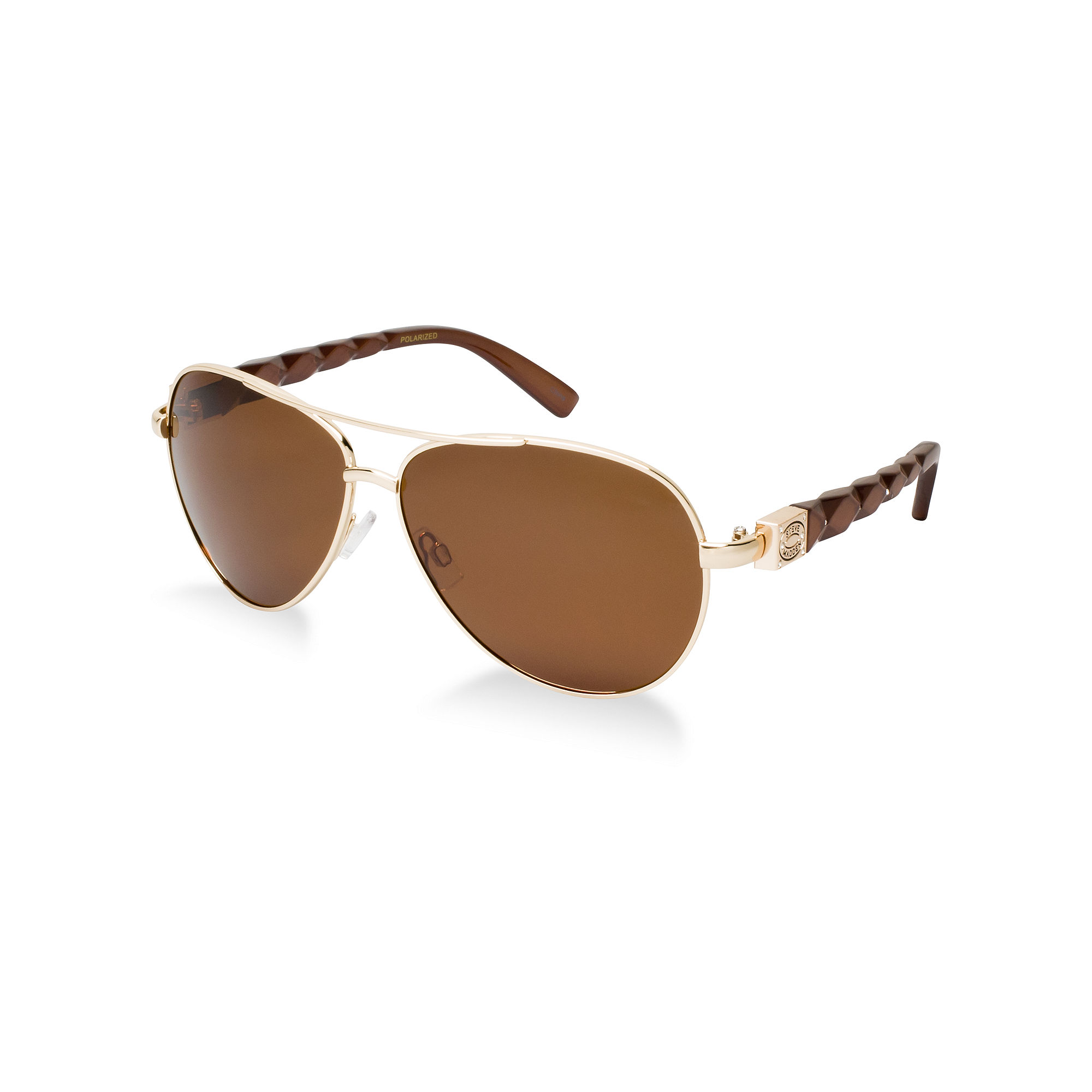 Steve Sunglasses  steve madden sunglasses in brown for men lyst