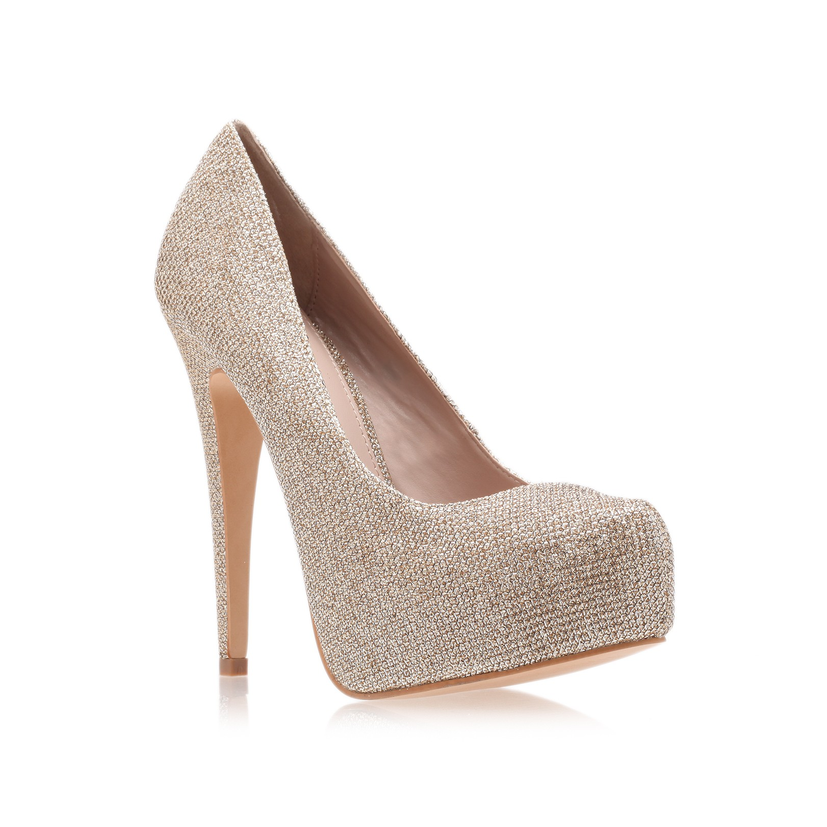 new items official price professional design Carvela Kurt Geiger Synthetic Kaci Court Shoes in Metallic ...