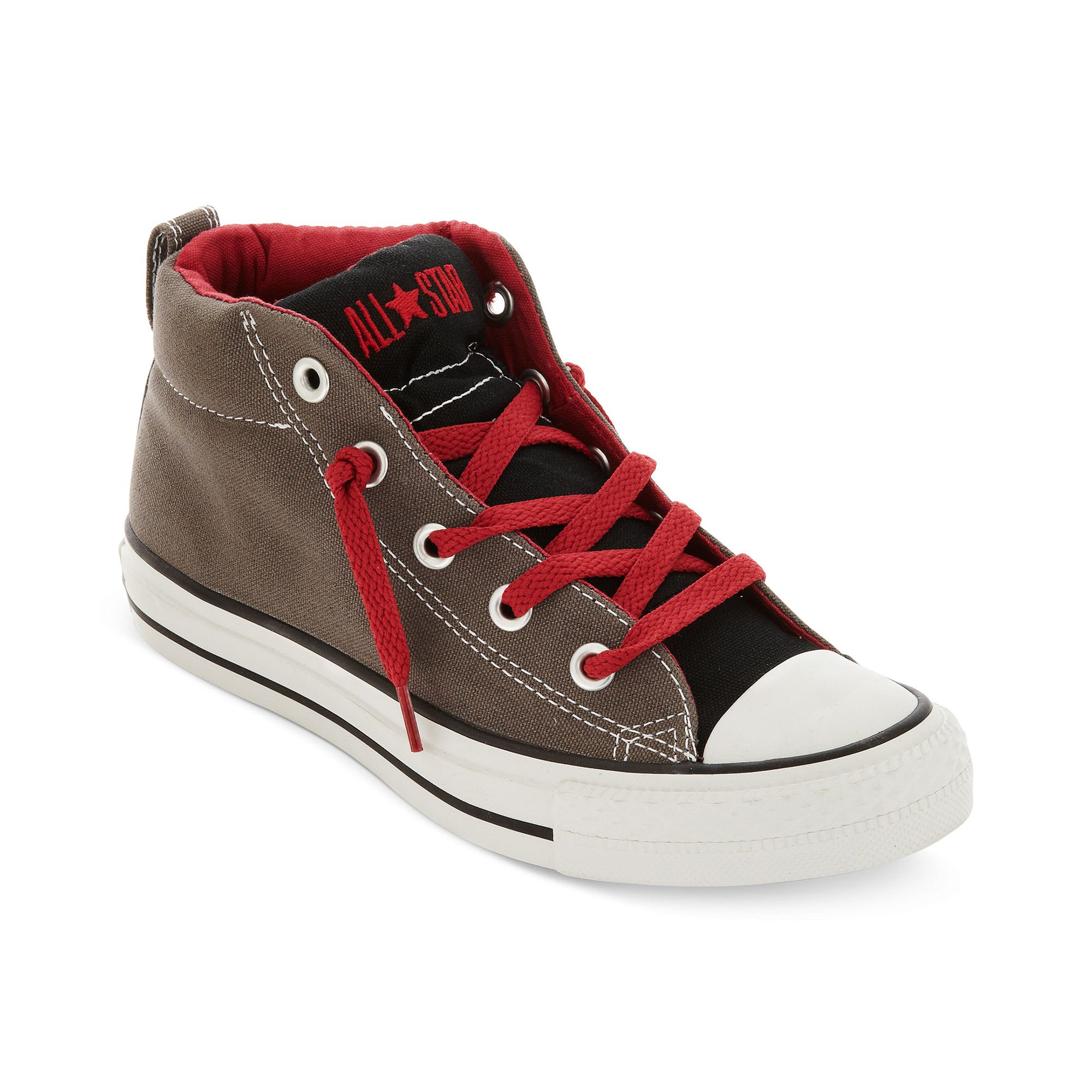 Converse Chuck Taylor Street Shoes In Gray For Men Lyst