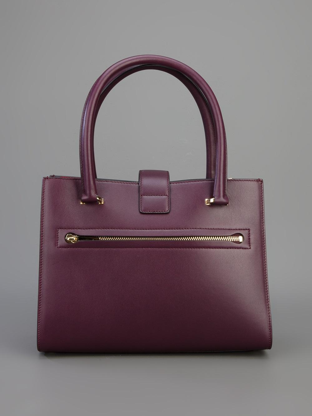 Ferragamo Juliette Tote in Pink & Purple (Purple)