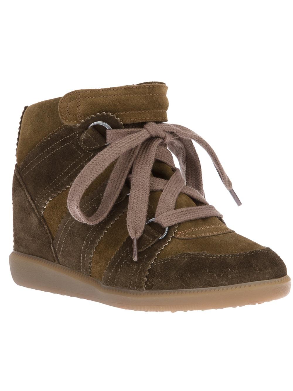 6fe726b387 Isabel Marant Bluebel Baskets Sneaker in Brown - Lyst