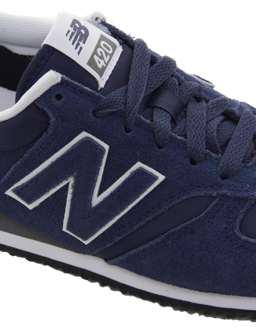 new balance 420 womens blue