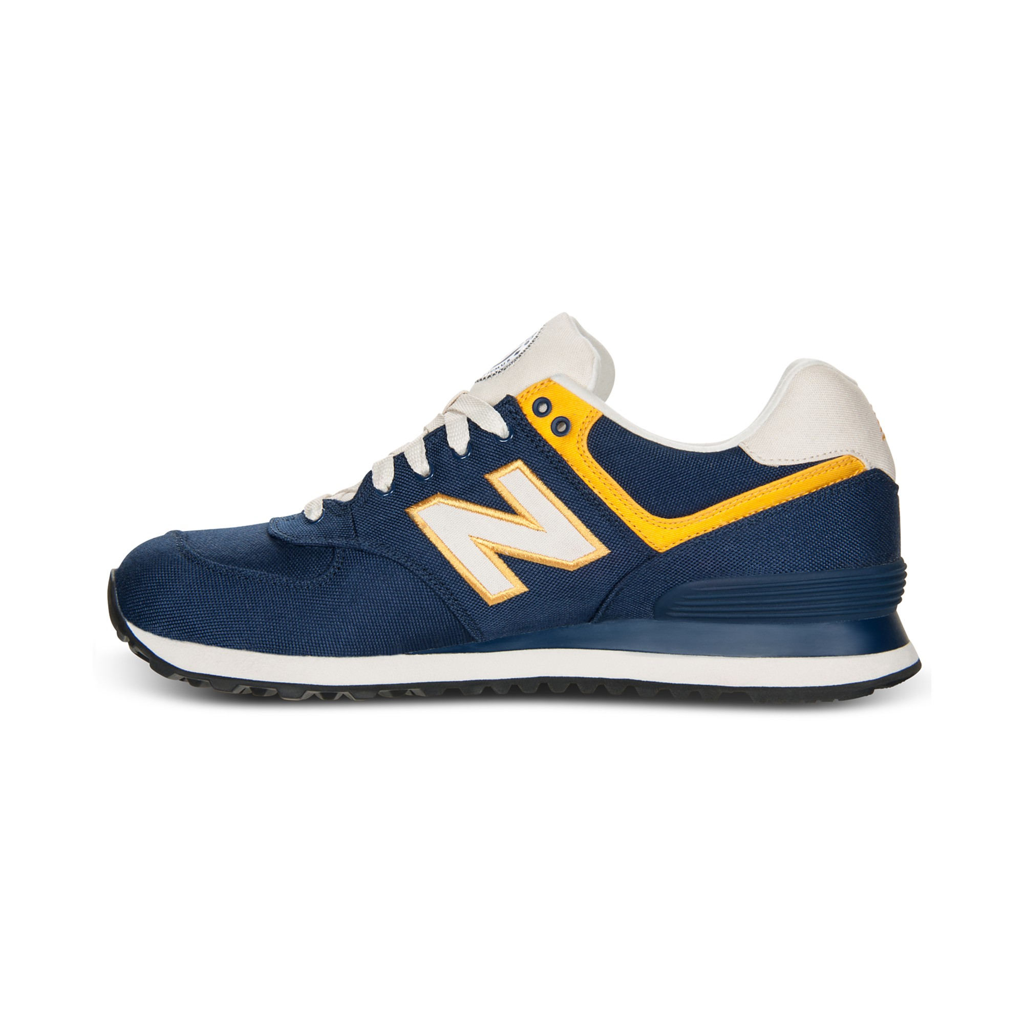 lyst new balance 574 sneakers in blue for men. Black Bedroom Furniture Sets. Home Design Ideas