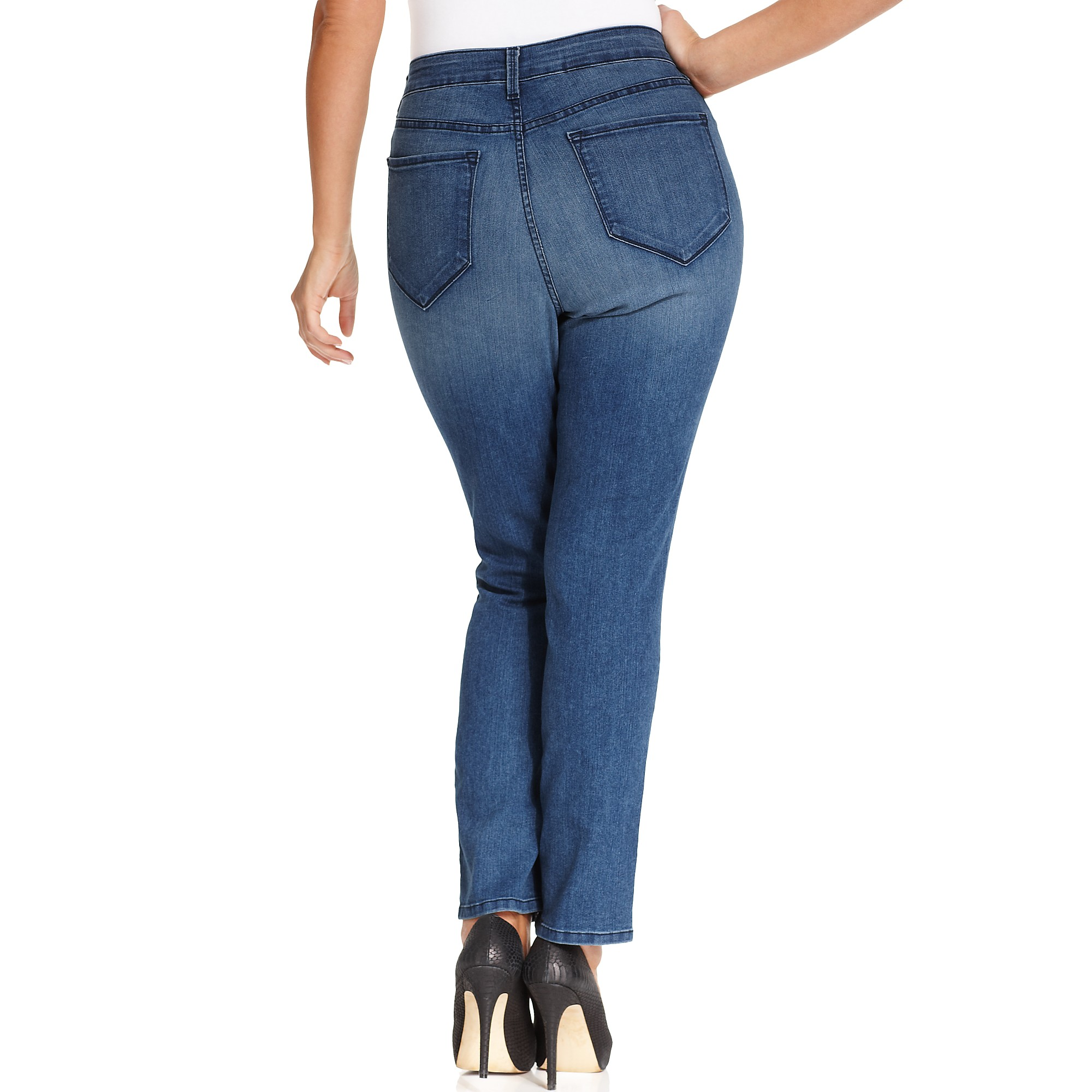 Not your daughter's jeans Nydj Plus Size Jeans Sheri Tummy ...