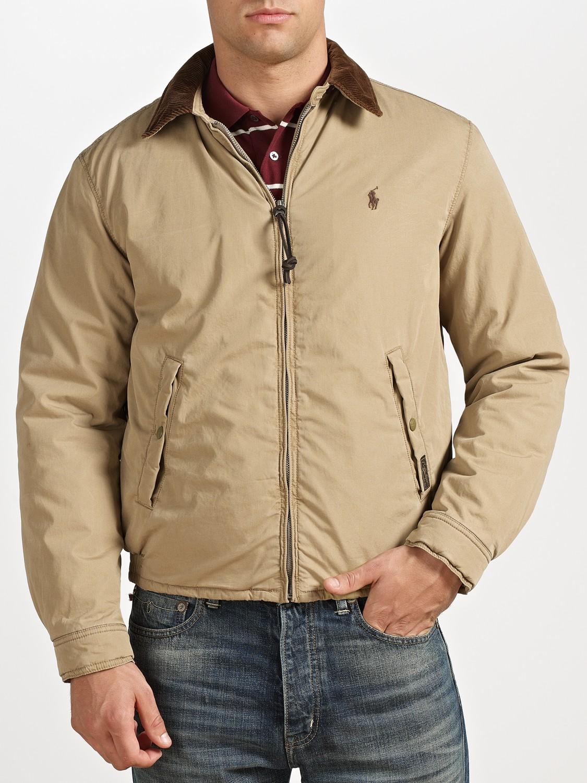 359b5a657 Polo Ralph Lauren Natural Shelburne Windbreaker Jacket for men