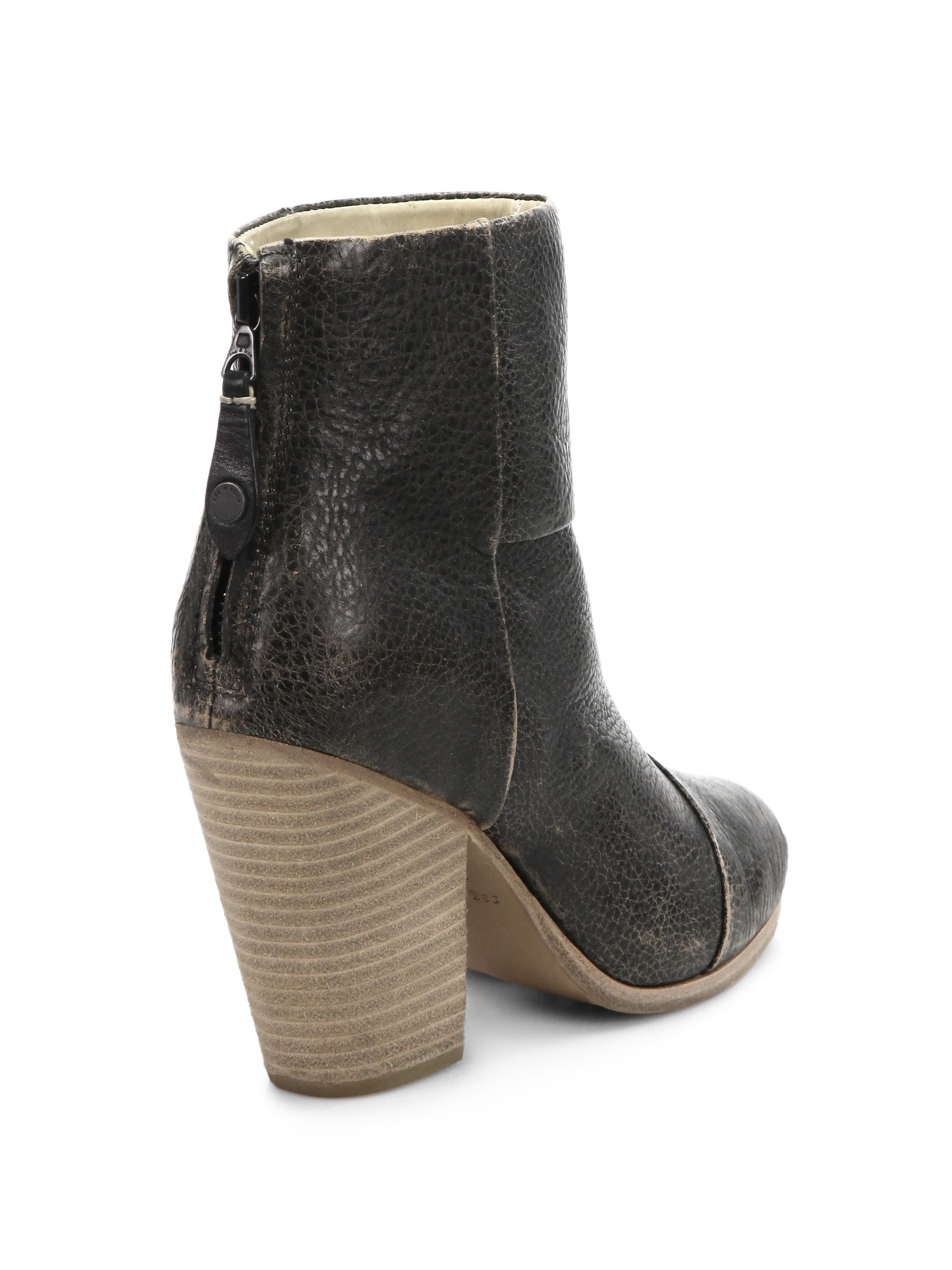 Rag & Bone Distressed Ankle Boots discount outlet store discount outlet locations E3spI4pv3