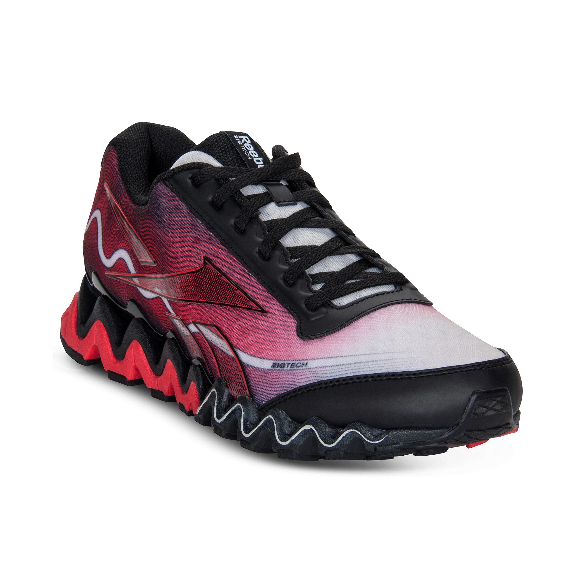 57e701c0058 Lyst - Reebok Zig Ultra Sneakers in Red for Men