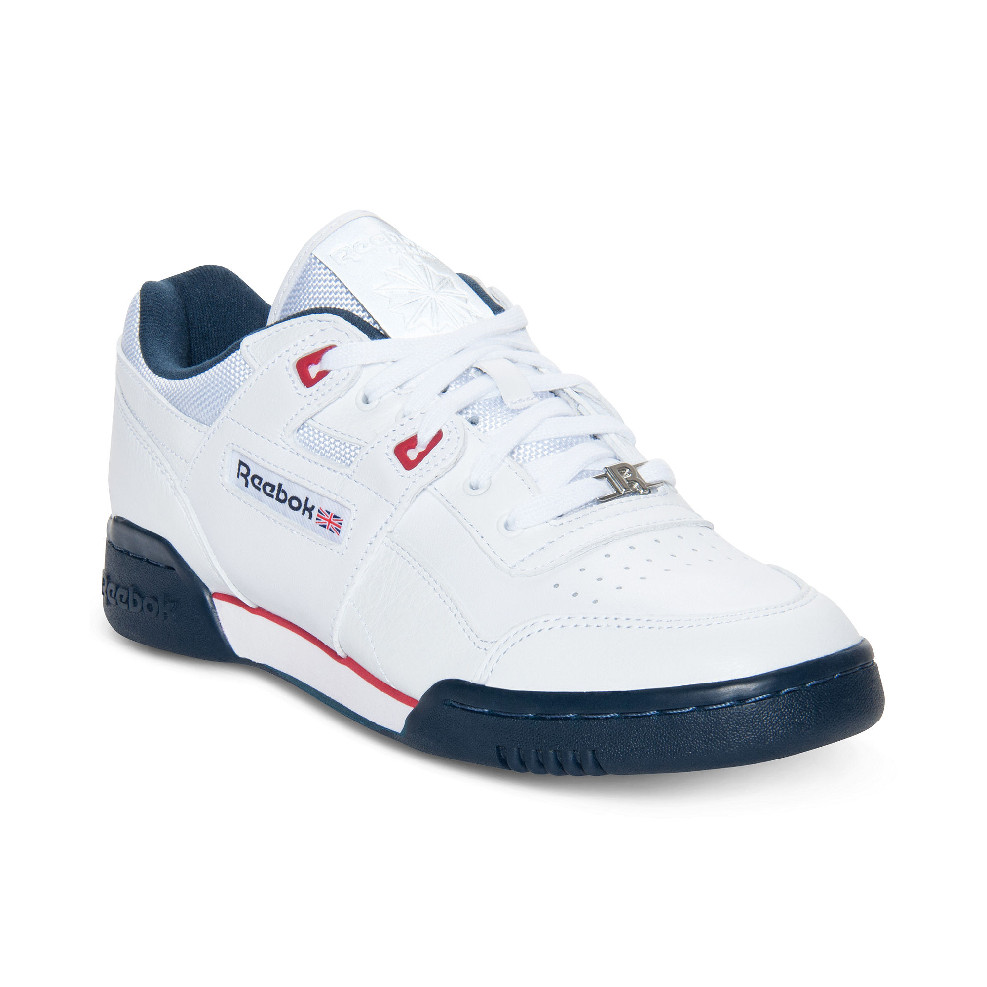 Reebok Workout Plus Casual Sneakers In White For Men ...