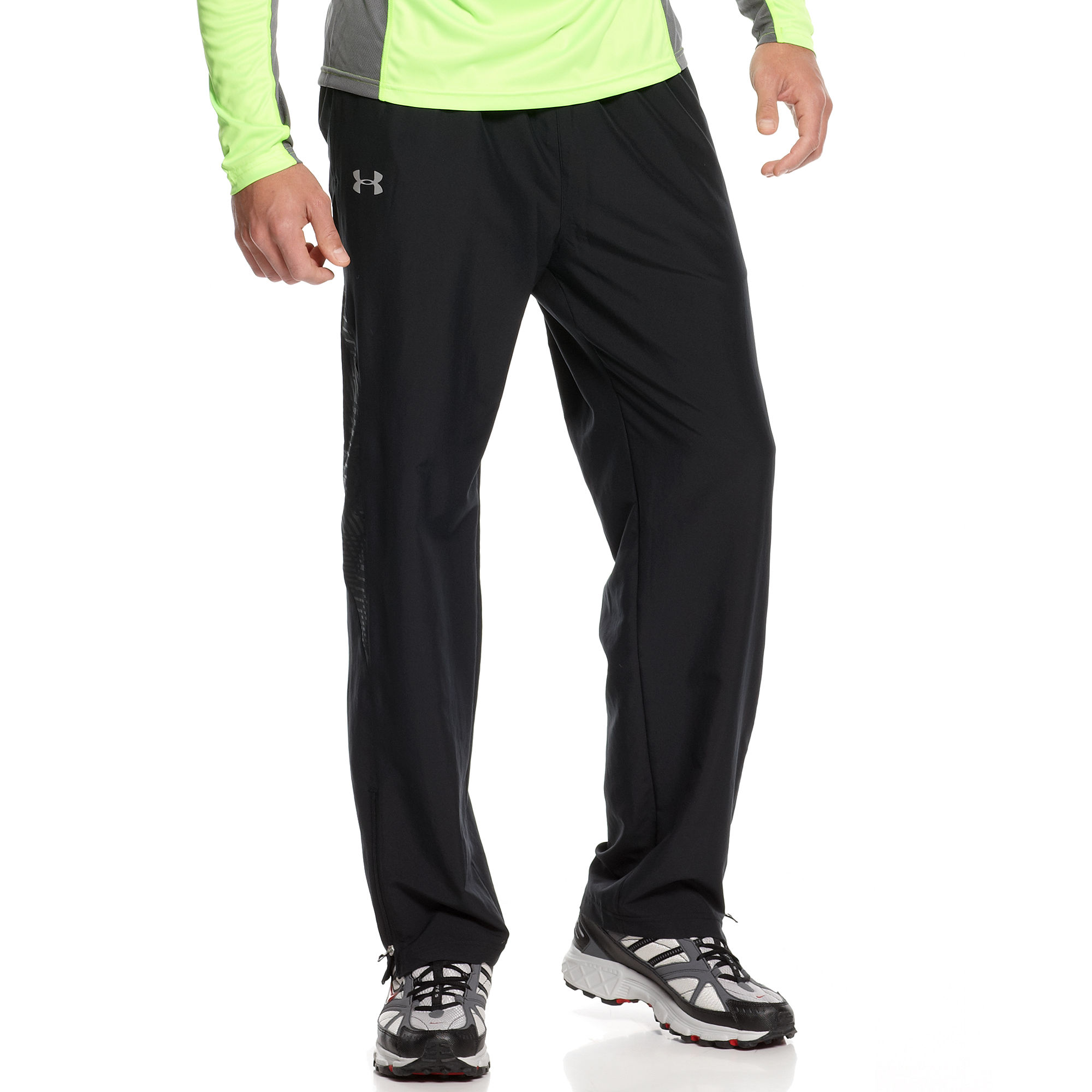 Under armour imminent performance running pants in black for men