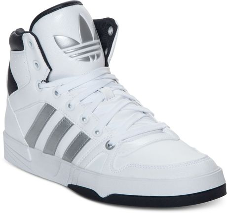 adidas court pro casual sneakers in white for men white