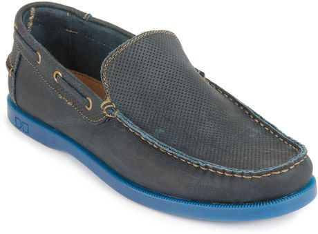 Bed Stu Shoes Uncle Lawrence Loafers in Blue for Men (denim greenland
