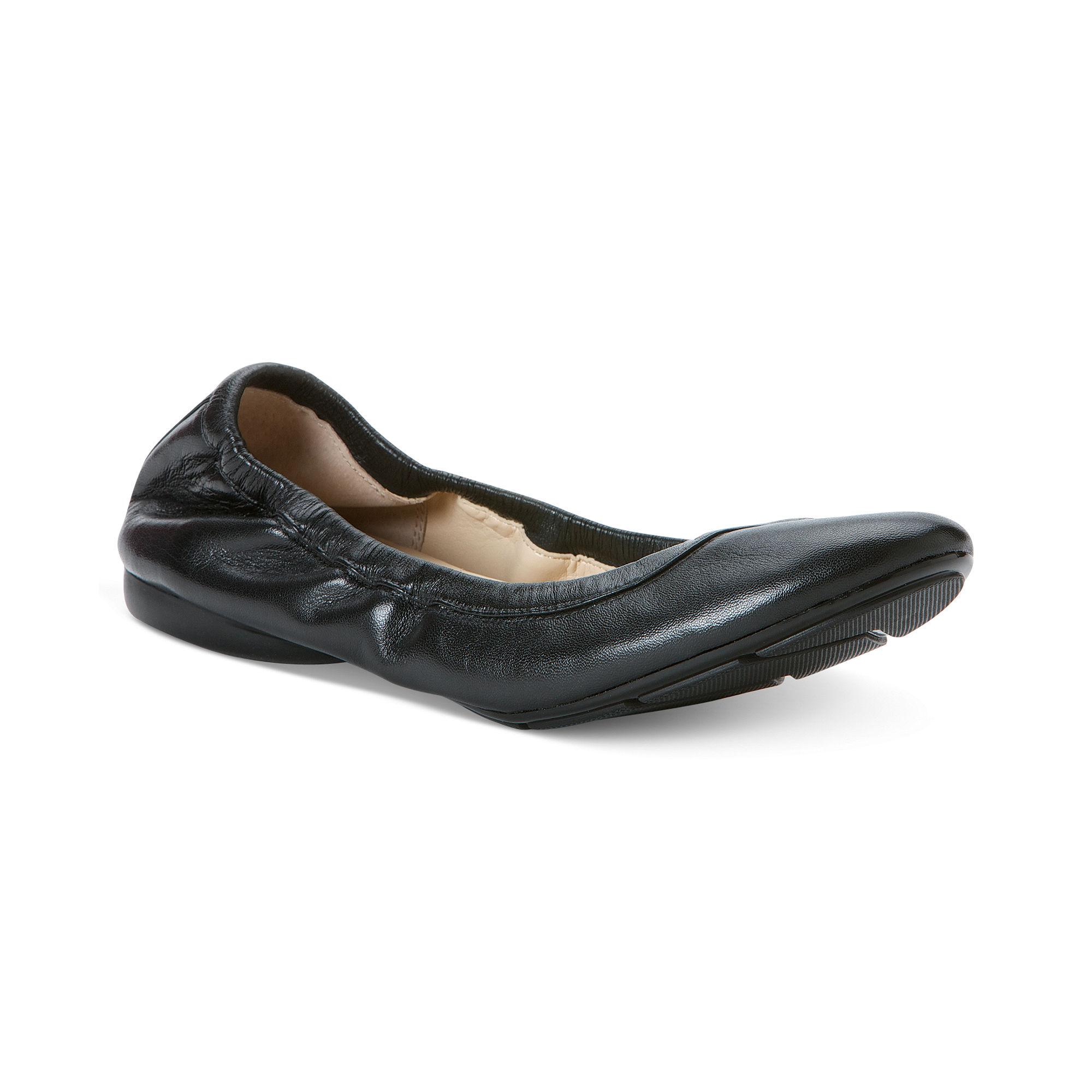 37a47eb855d4 Calvin Klein Prelia Ballet Flats in Black - Lyst