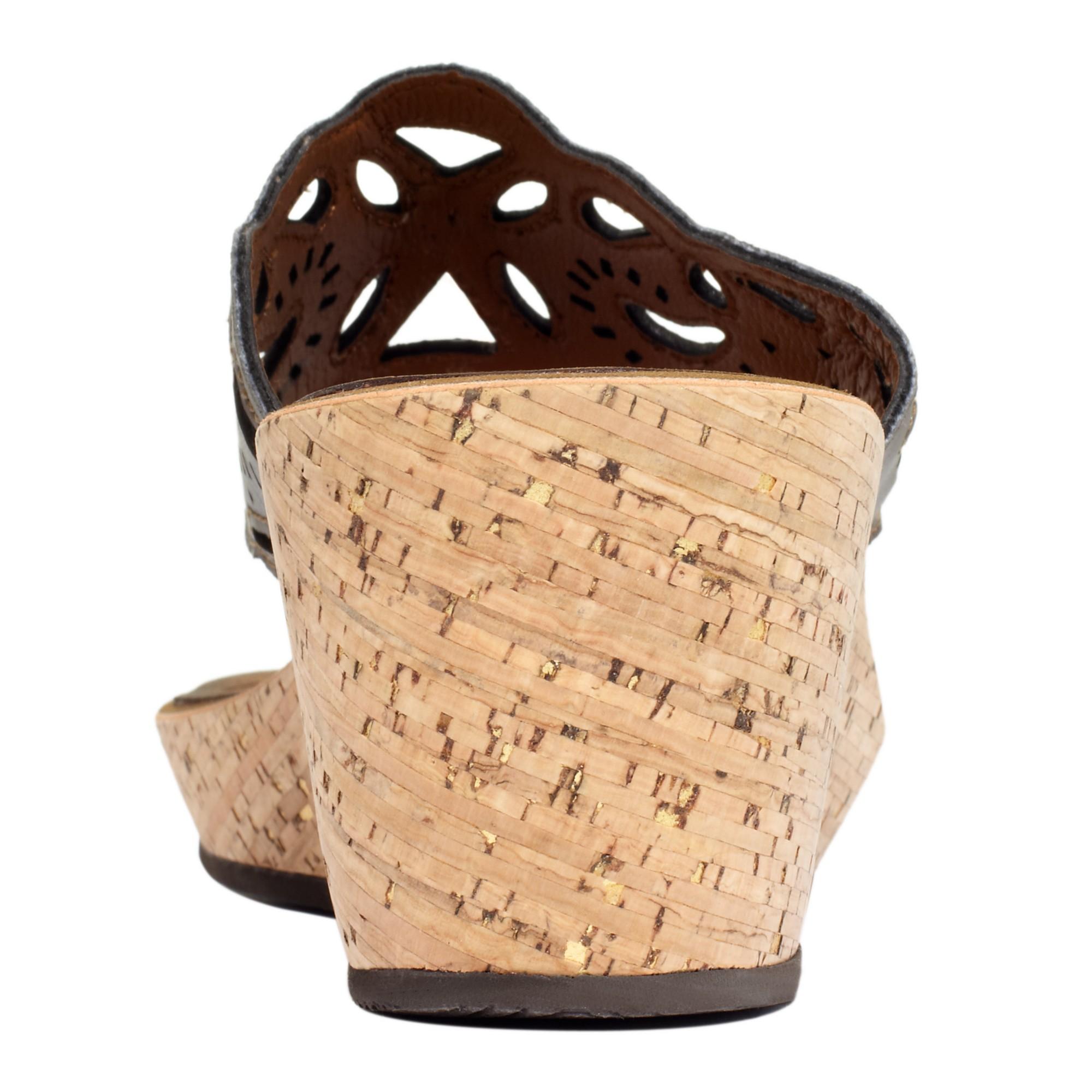 Lyst Clarks Mimmey Jane Platform Wedge Thong Sandals In