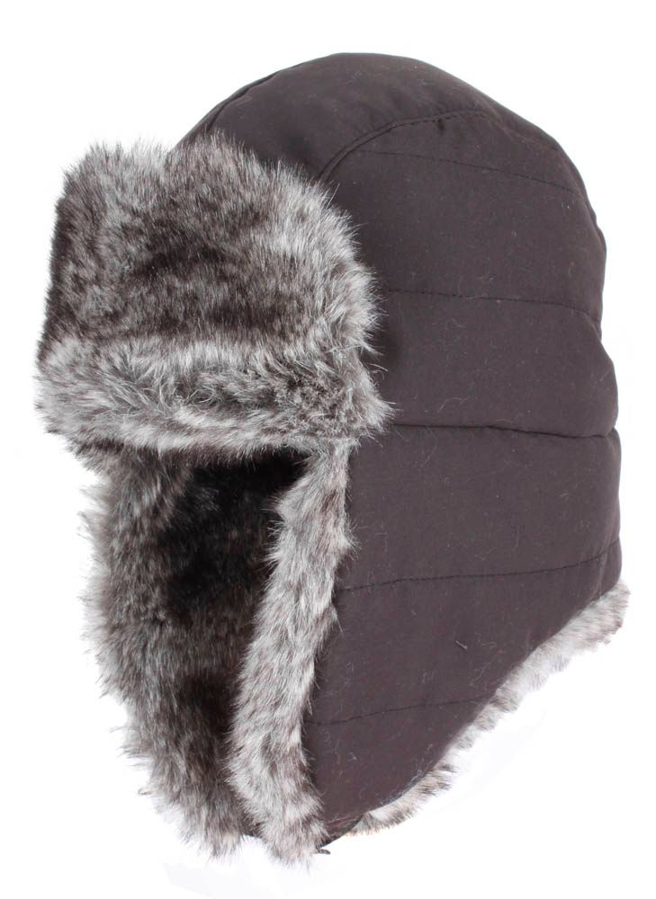 Lyst Dents Mens Trapper Hat In Black For Men