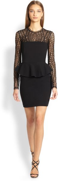 Emilio Pucci Black Dress With Lace Black Emilio Pucci Lace