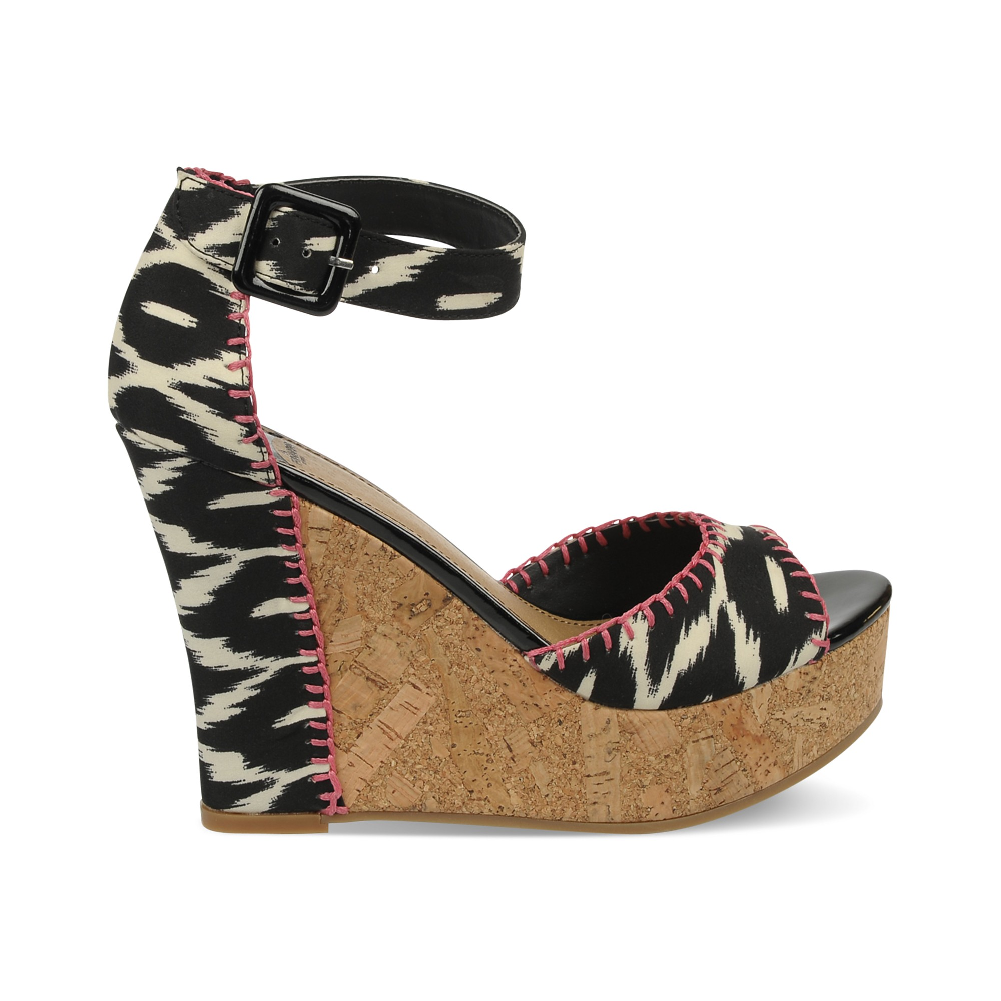 Fergie Fergalicious Shoes Quiztime Platform Wedge Sandals