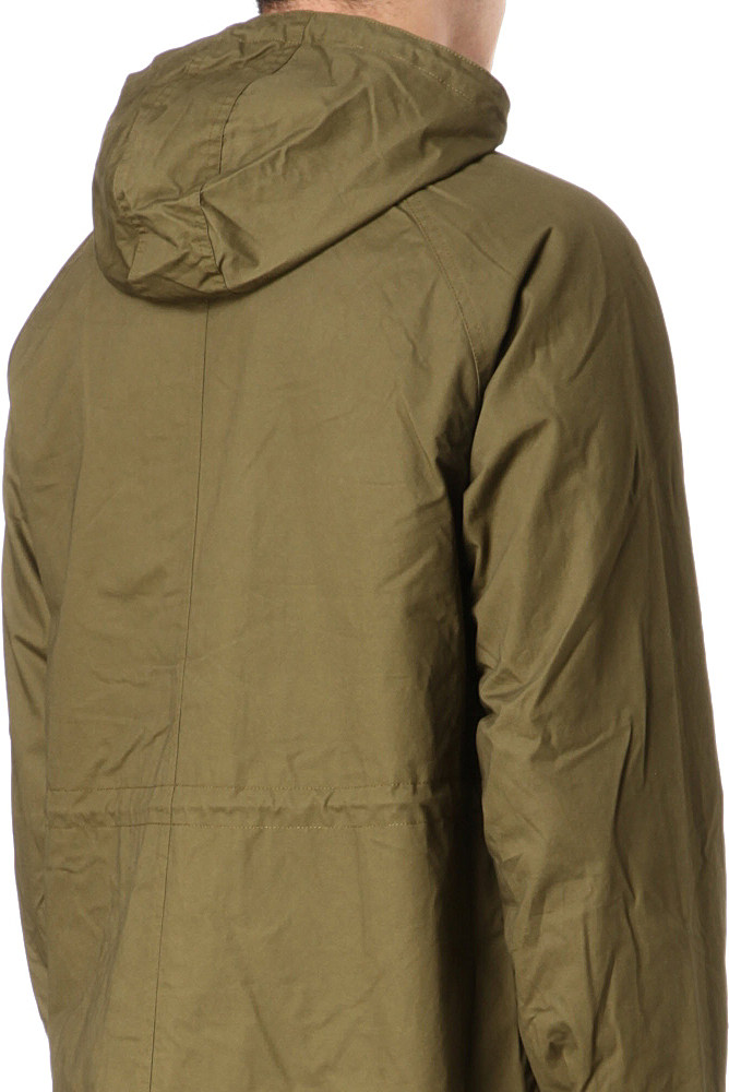 fred perry fishtail parka jacket in green for men lyst. Black Bedroom Furniture Sets. Home Design Ideas