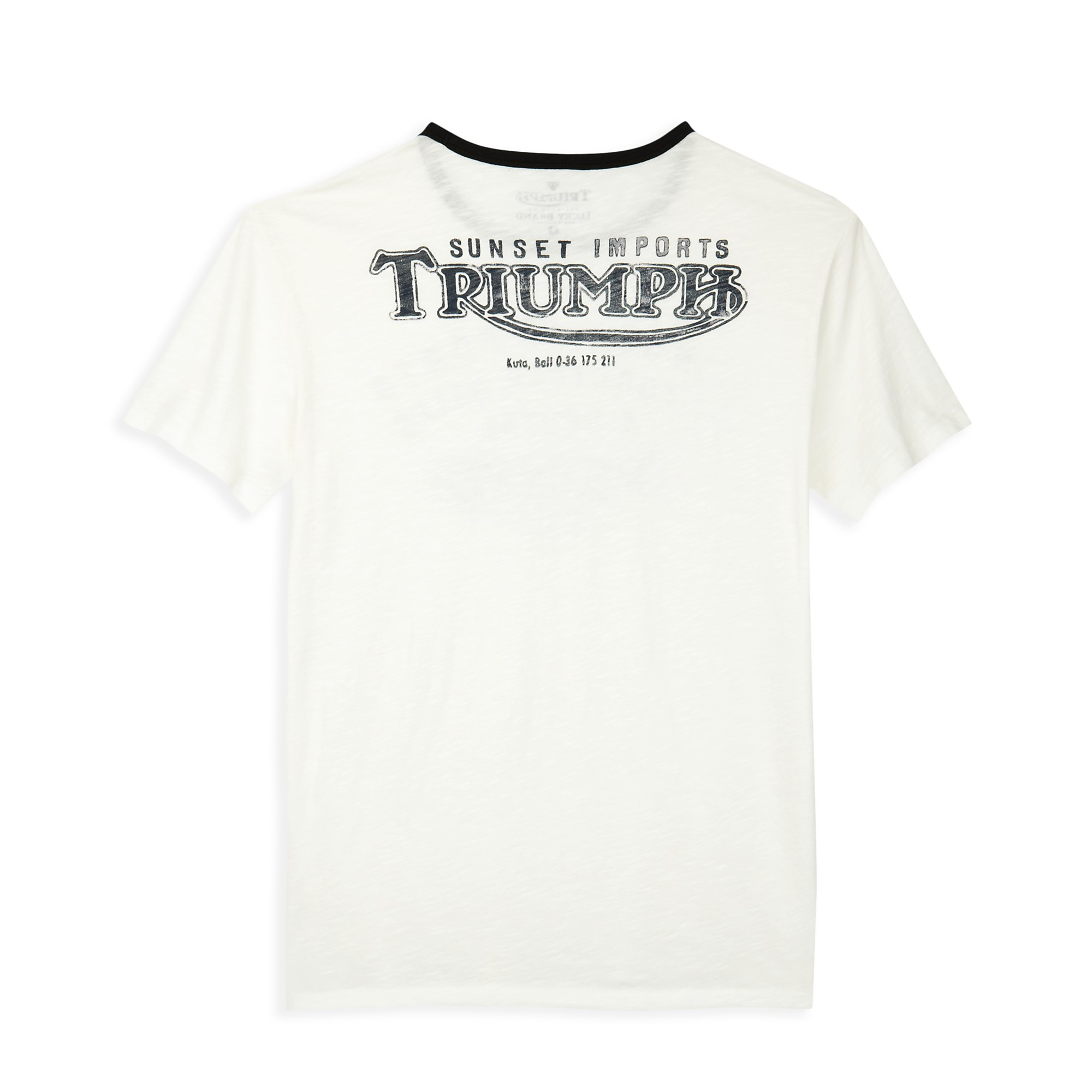 f2ca8b6eb Lucky Brand Triumph Sunset Imports Tshirt in White for Men - Lyst