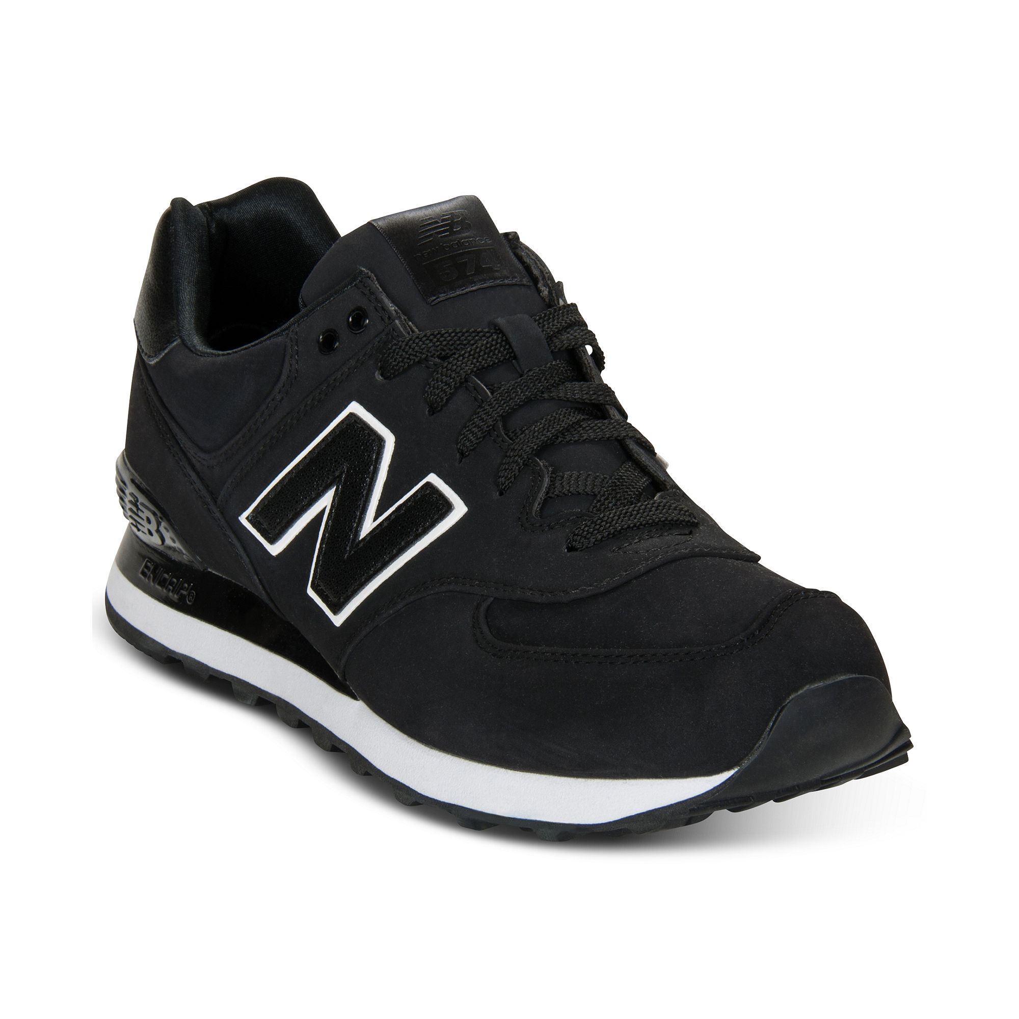 newest collection faaab 4dd3f New Balance Black 574 Sneakers for men