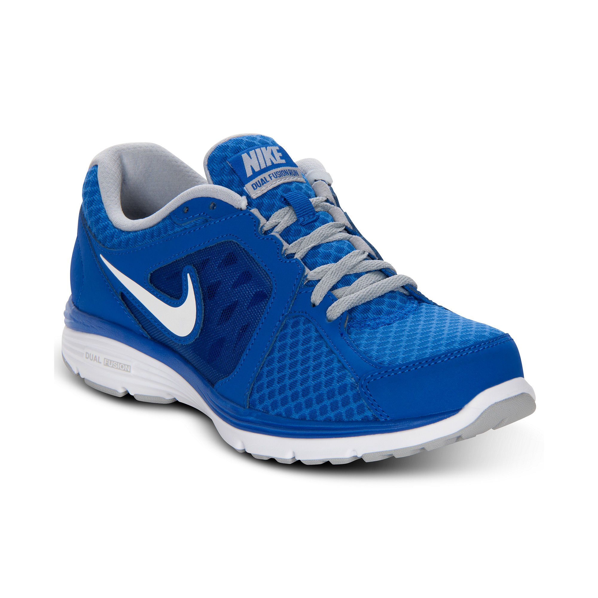 15221f9351bf77 Lyst - Nike Dual Fusion Run Breathe Sneakers in Blue for Men