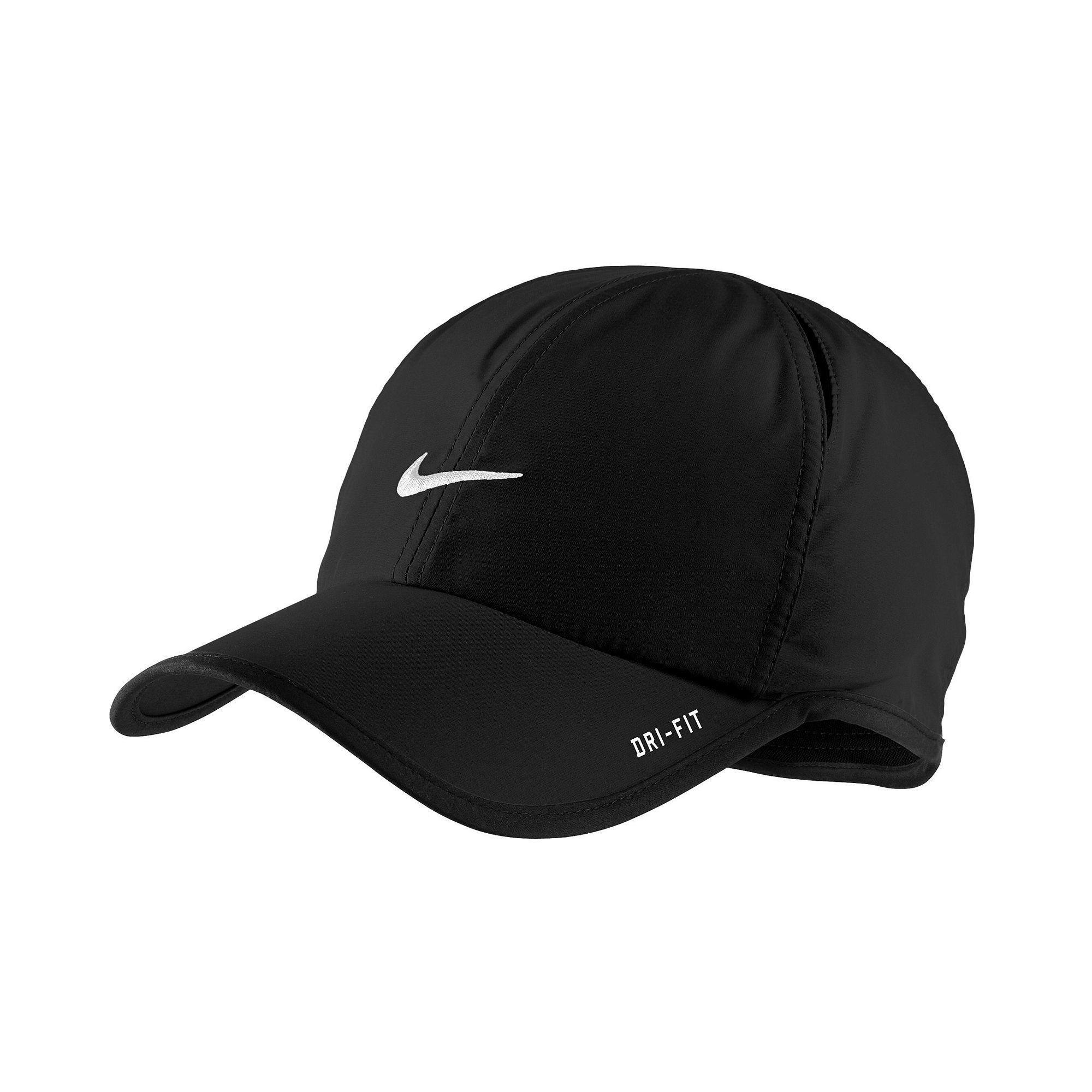 c1deeecbd213f Lyst - Nike Dri Fit Feather Light Cap in Black for Men