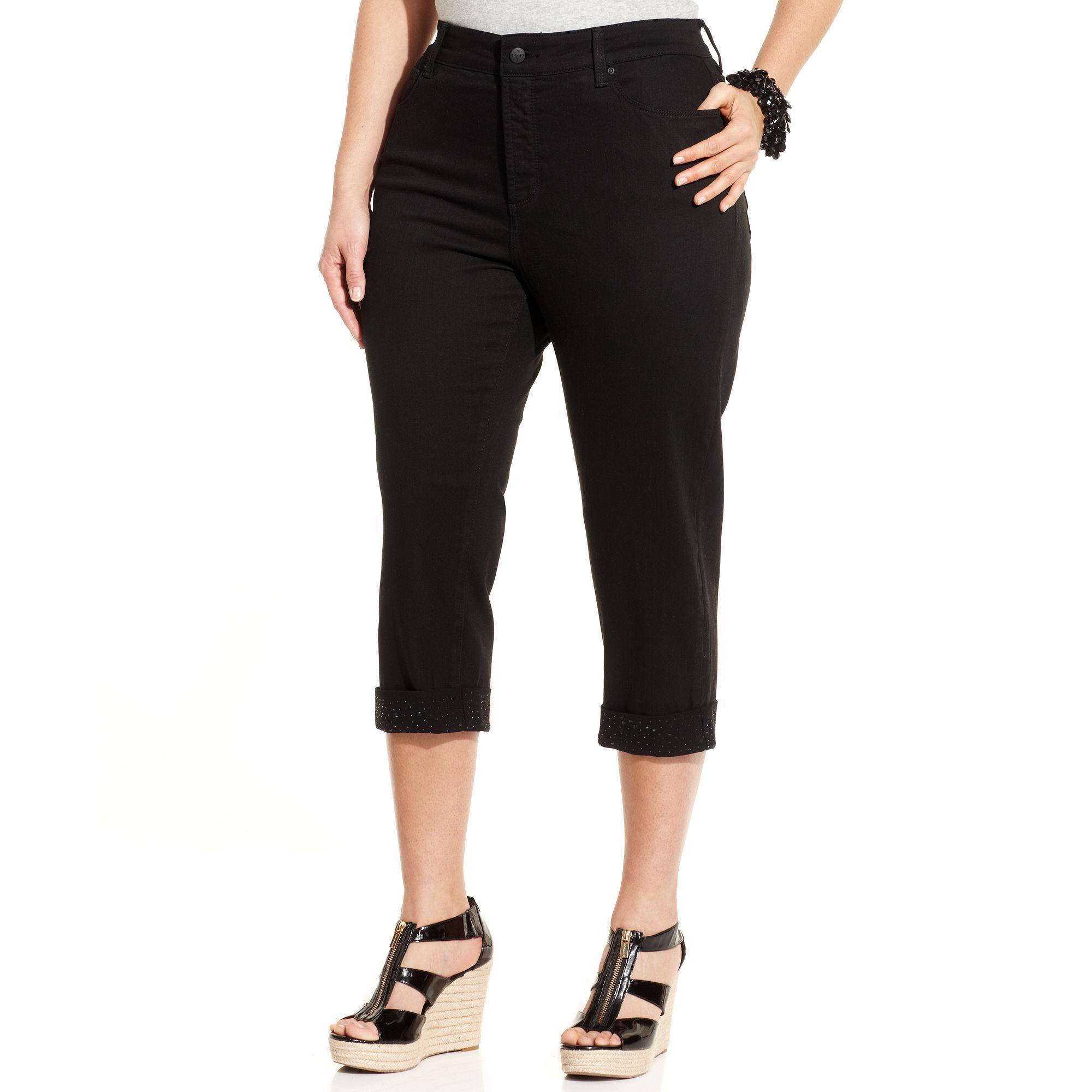 not your daughter 39 s jeans nydj plus size jeans alyssa. Black Bedroom Furniture Sets. Home Design Ideas