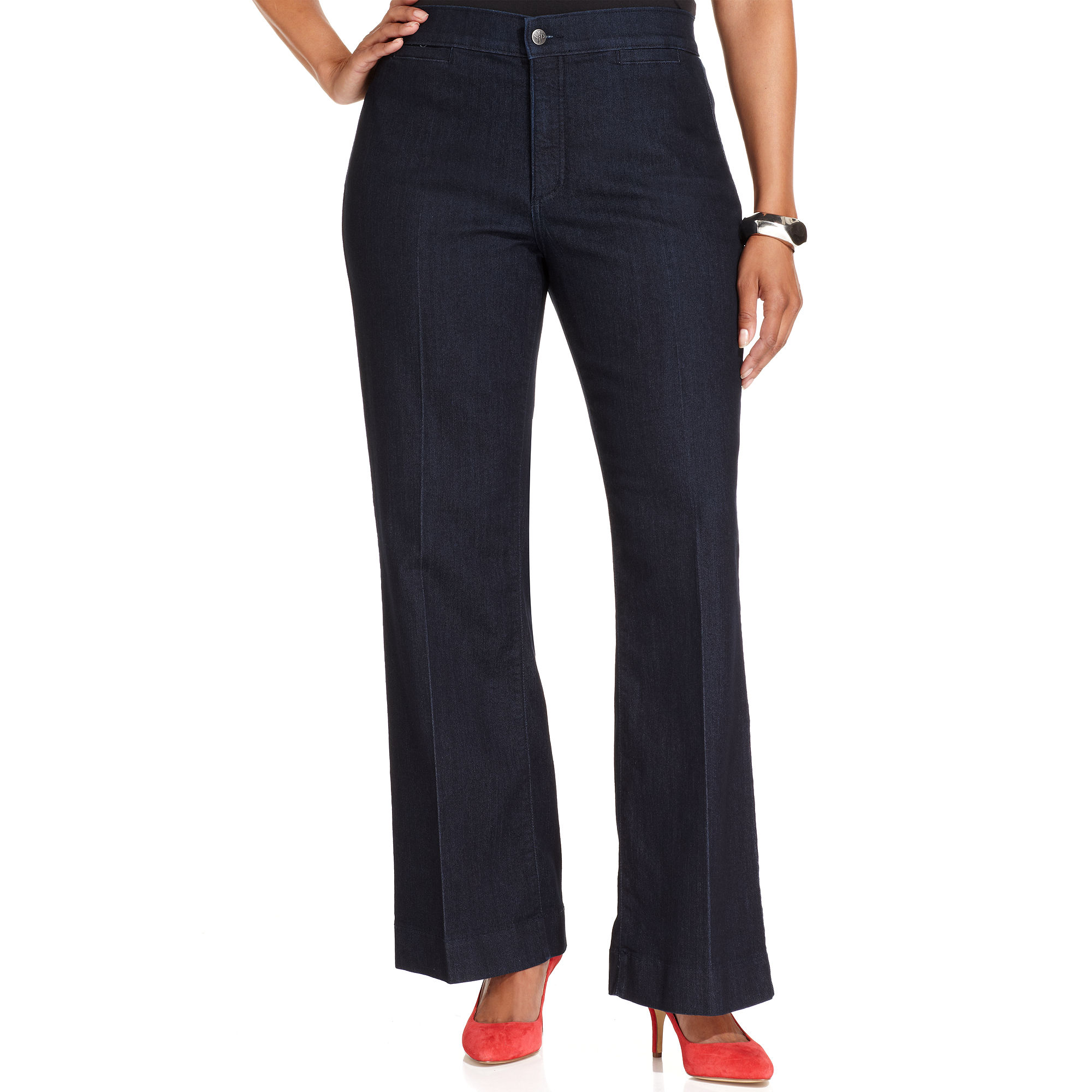 Not your daughter's jeans Nydj Plus Size Jeans Michelle Trouser ...