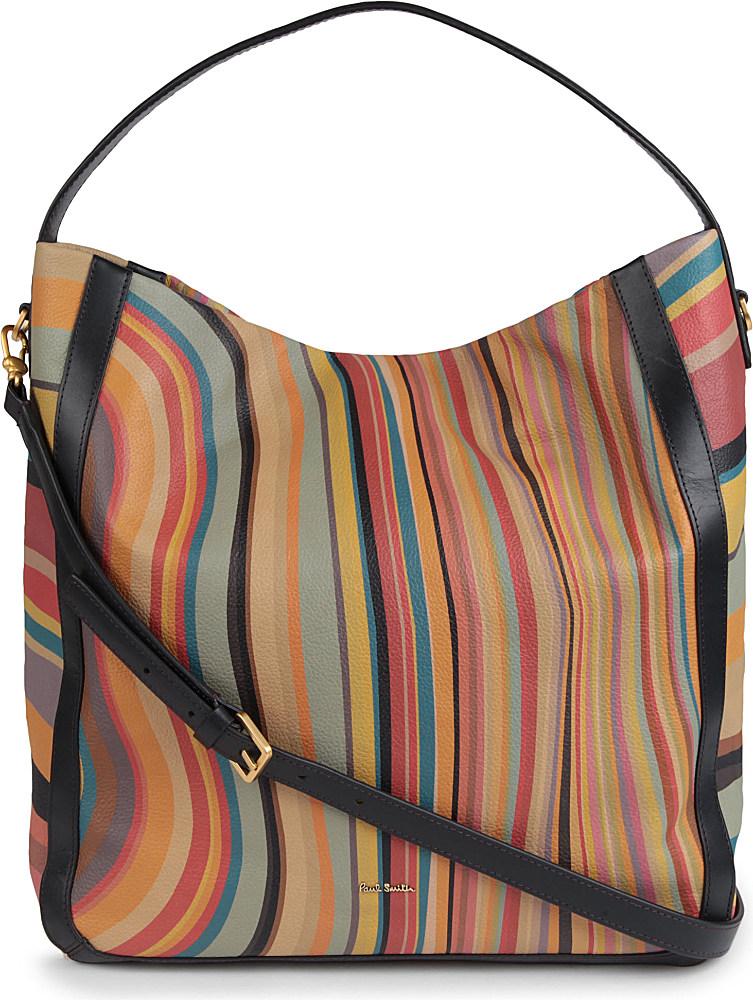 ... Swirl Bag  best website 7e9f2 8fabc Paul Smith Westbourne Hobo Bag -  Lyst ... b6e28f4c64468