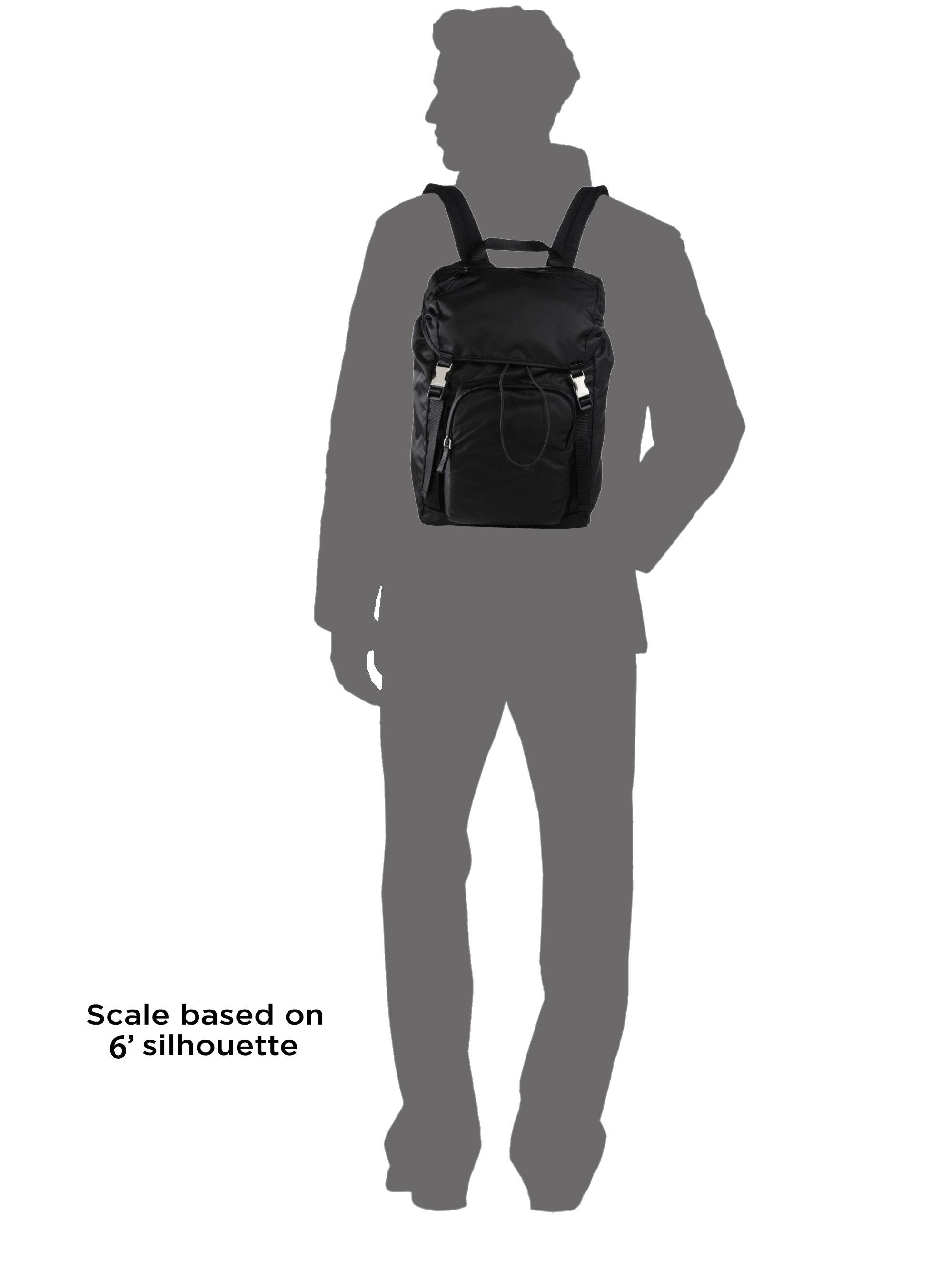 Prada Nylon Backpack in Black for Men | Lyst