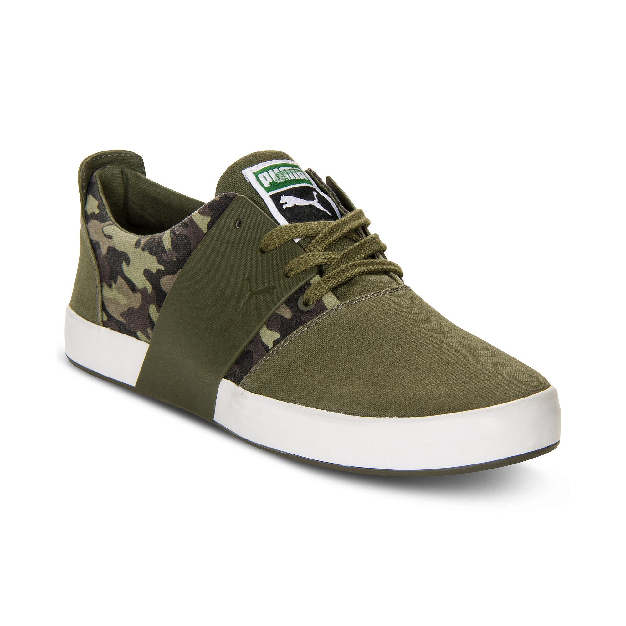 Puma El Ace 3 Camo Sneakers In Green For Men Lyst