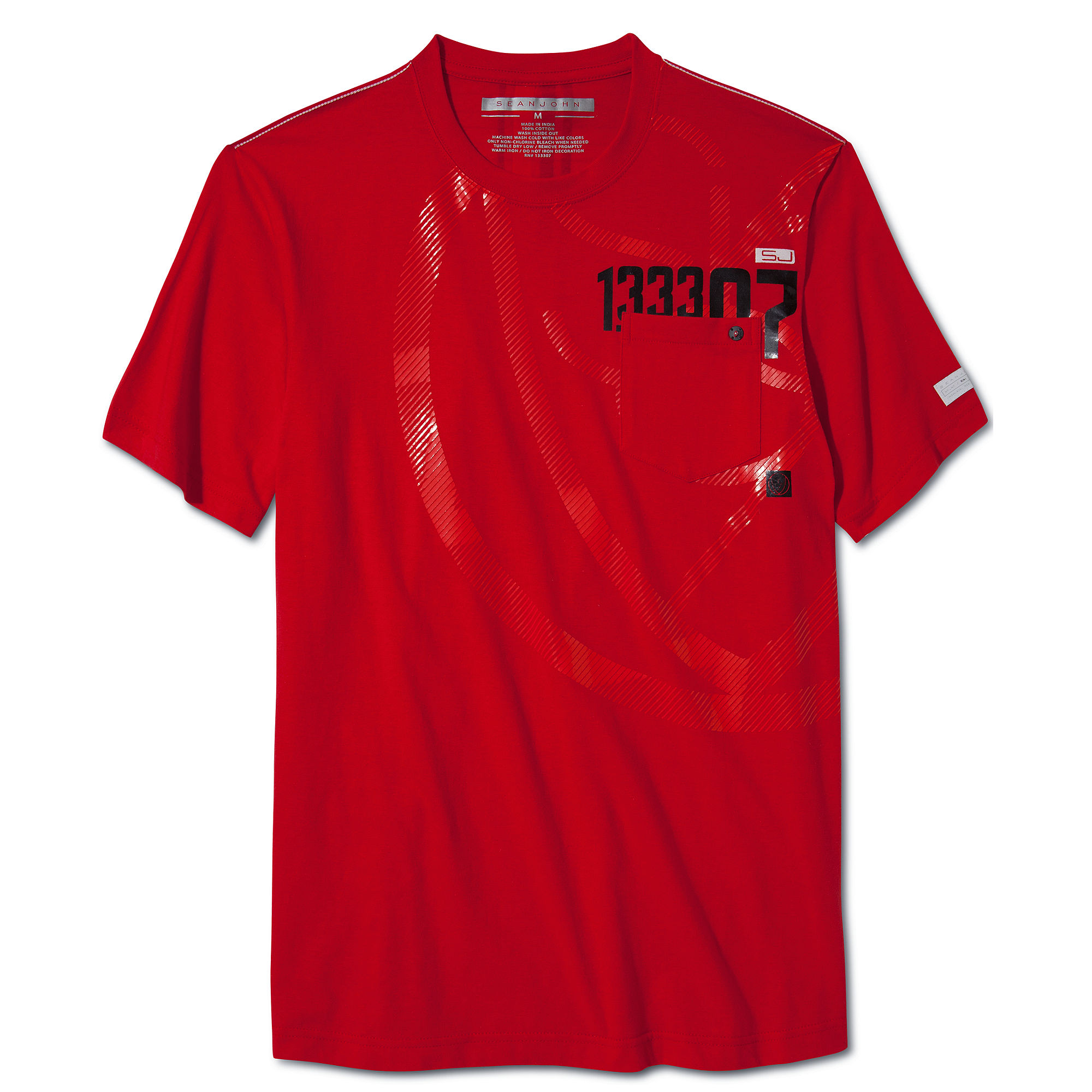 512c27d744 Lyst - Sean John Mechanic Graphic Tee in Red for Men