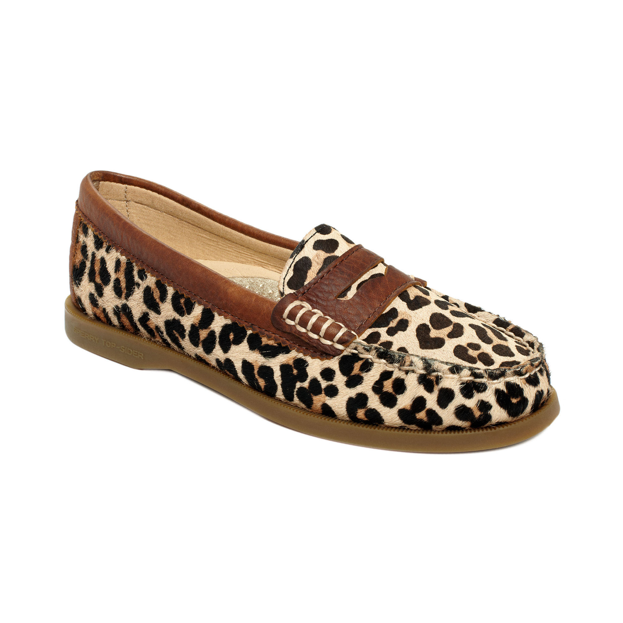 Sperry Top-sider Hayden Penny Loafer Flats in Brown ...
