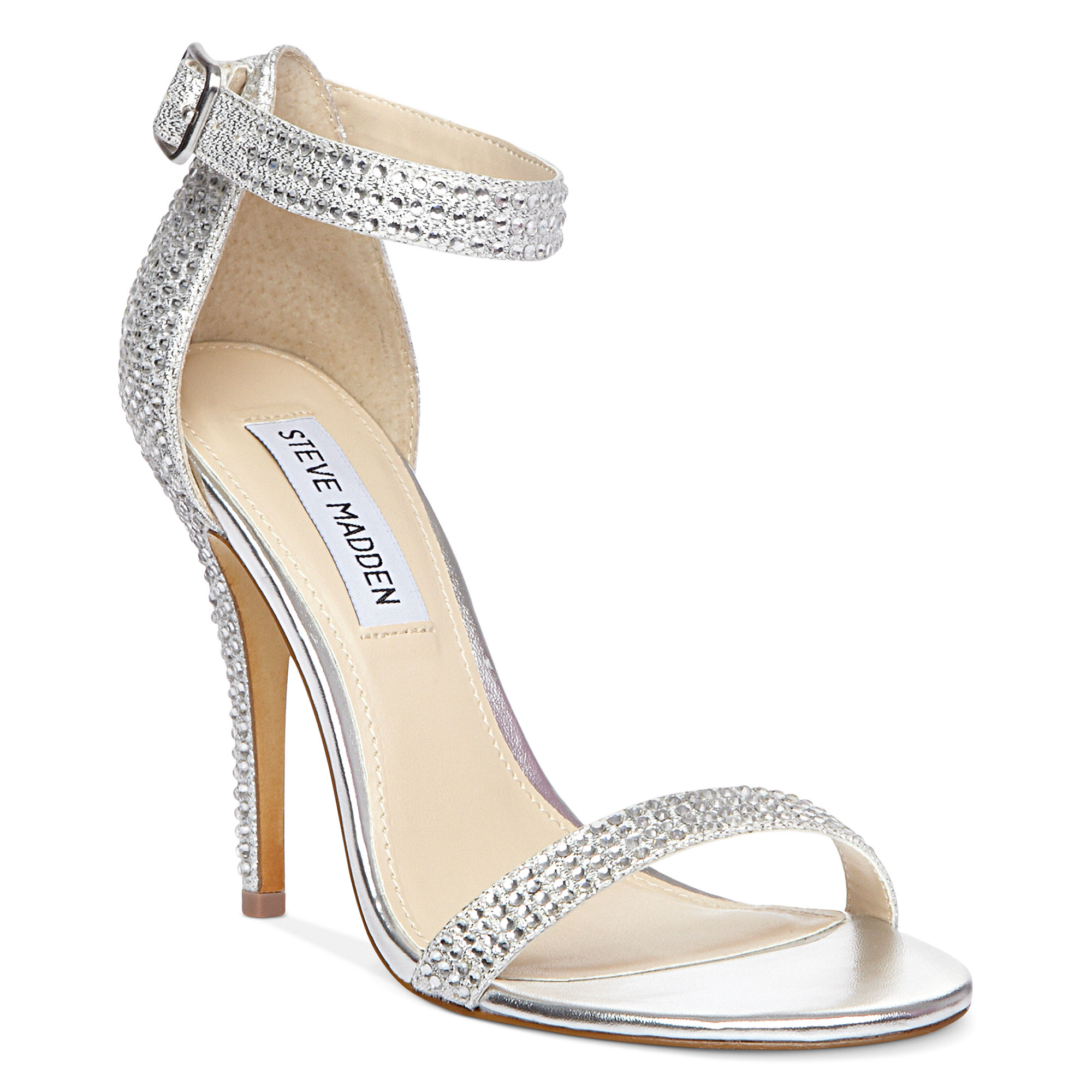 52a3ef16686 Lyst - Steve Madden Real Love R Evening Sandals