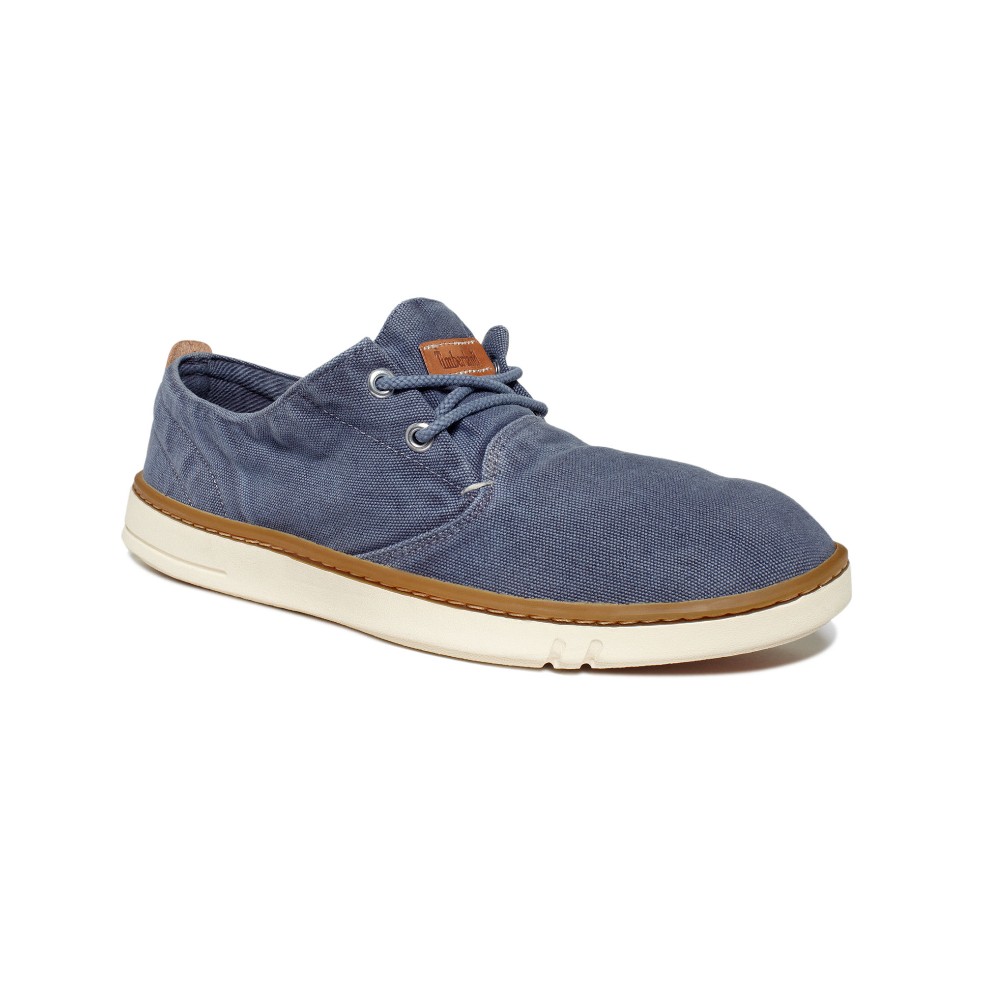 1b58adcc9478 Lyst - Timberland Earthkeepers Hookset Handcrafted Canvas Shoes in ...