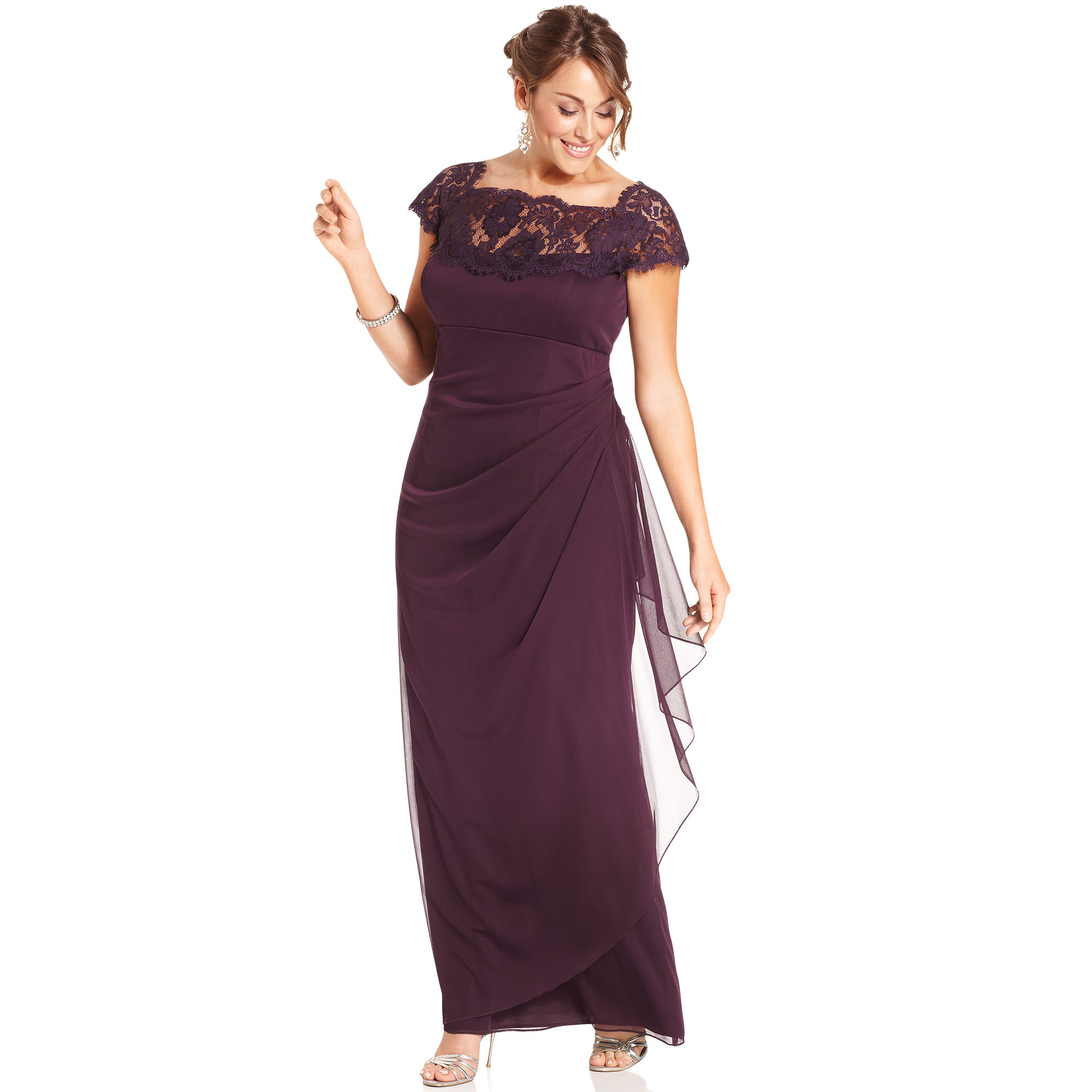 Macy\'s Purple Evening Dresses – Fashion dresses