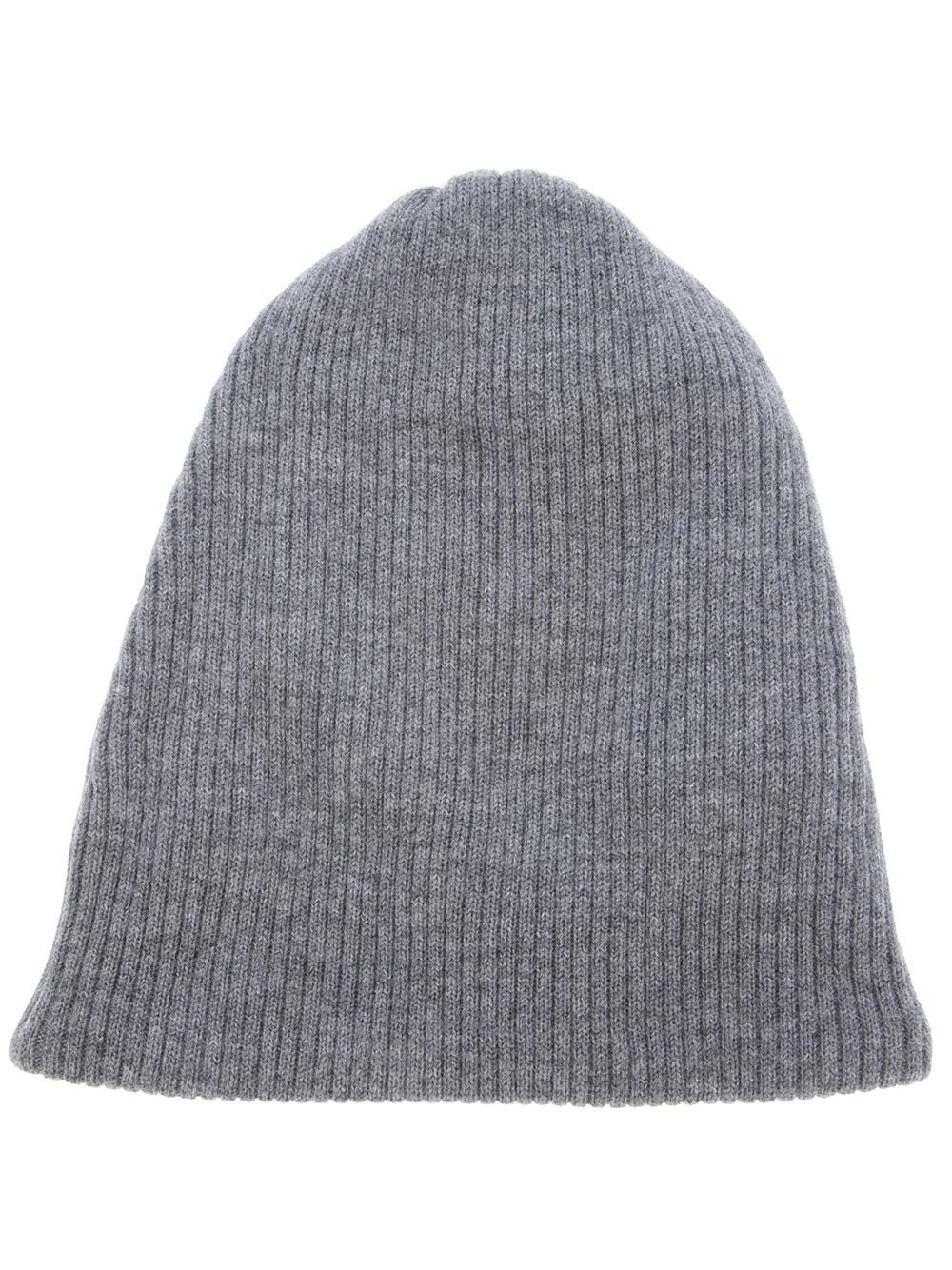 a83dd420ef33 Lyst - Acne Studios Spring Merino Beanie Hat in Gray