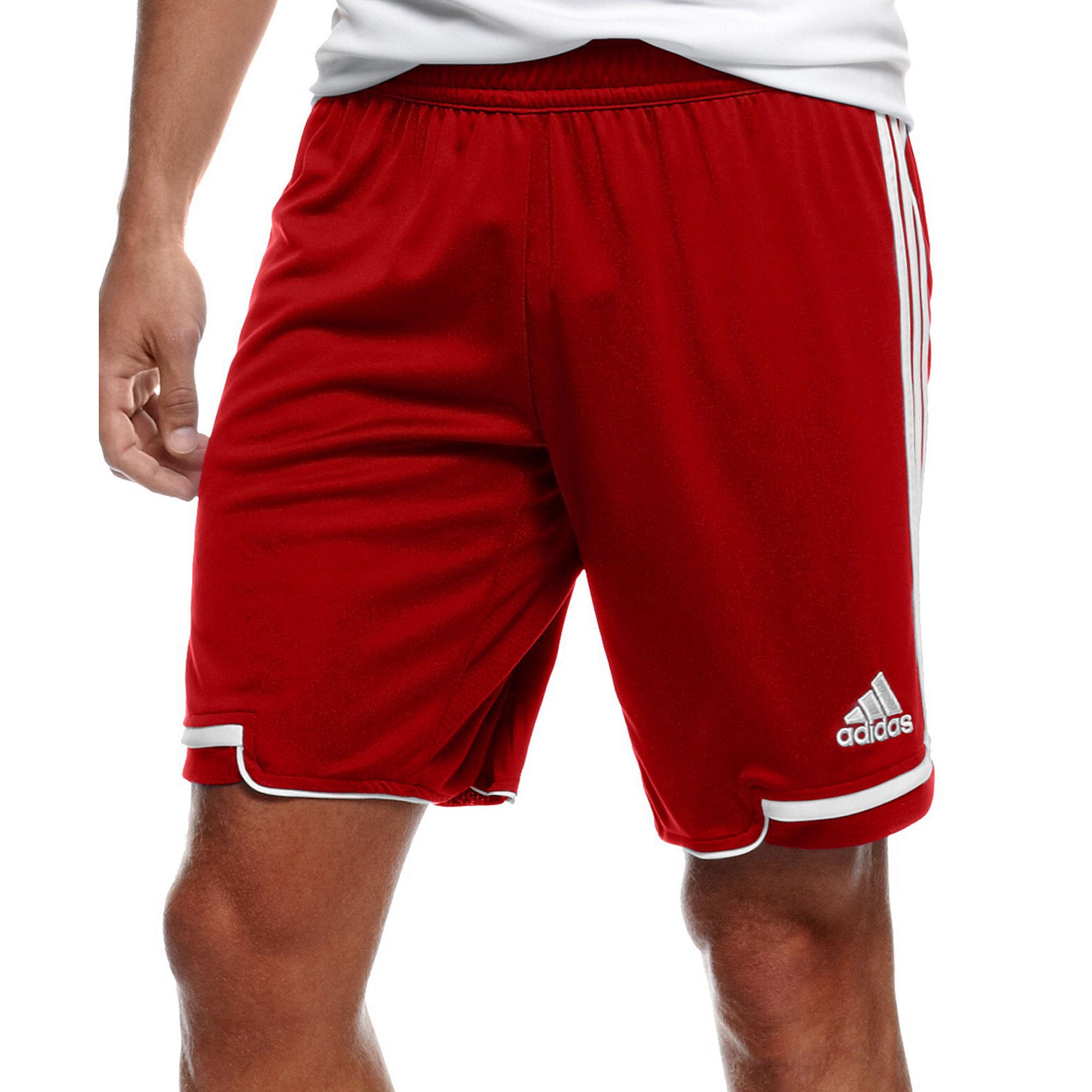 Lyst - adidas Regista 12 Climacool Soccer Shorts in Red for Men 29e3a3d527af