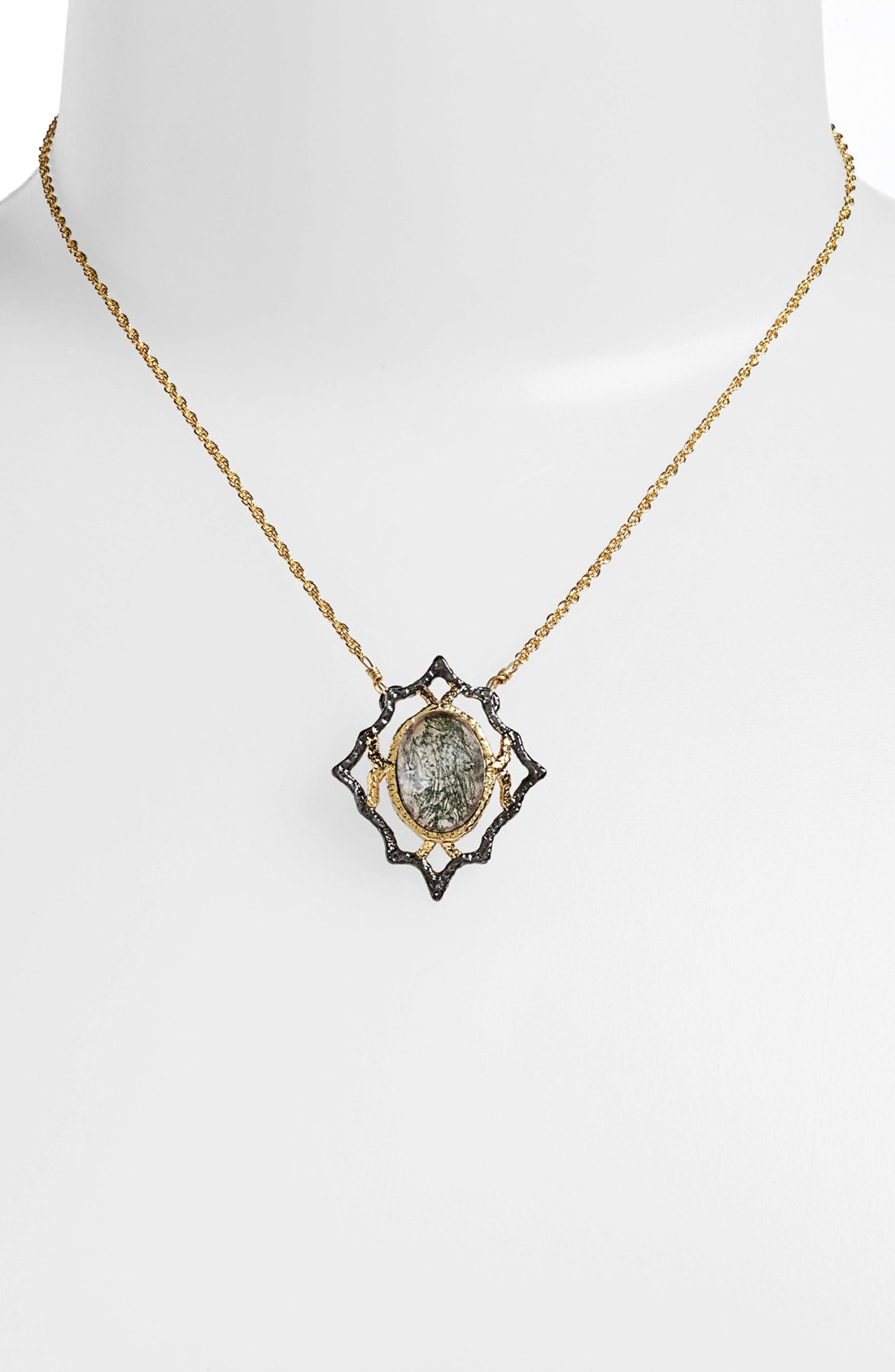 alexis bittar elements jardin de papillon pendant necklace