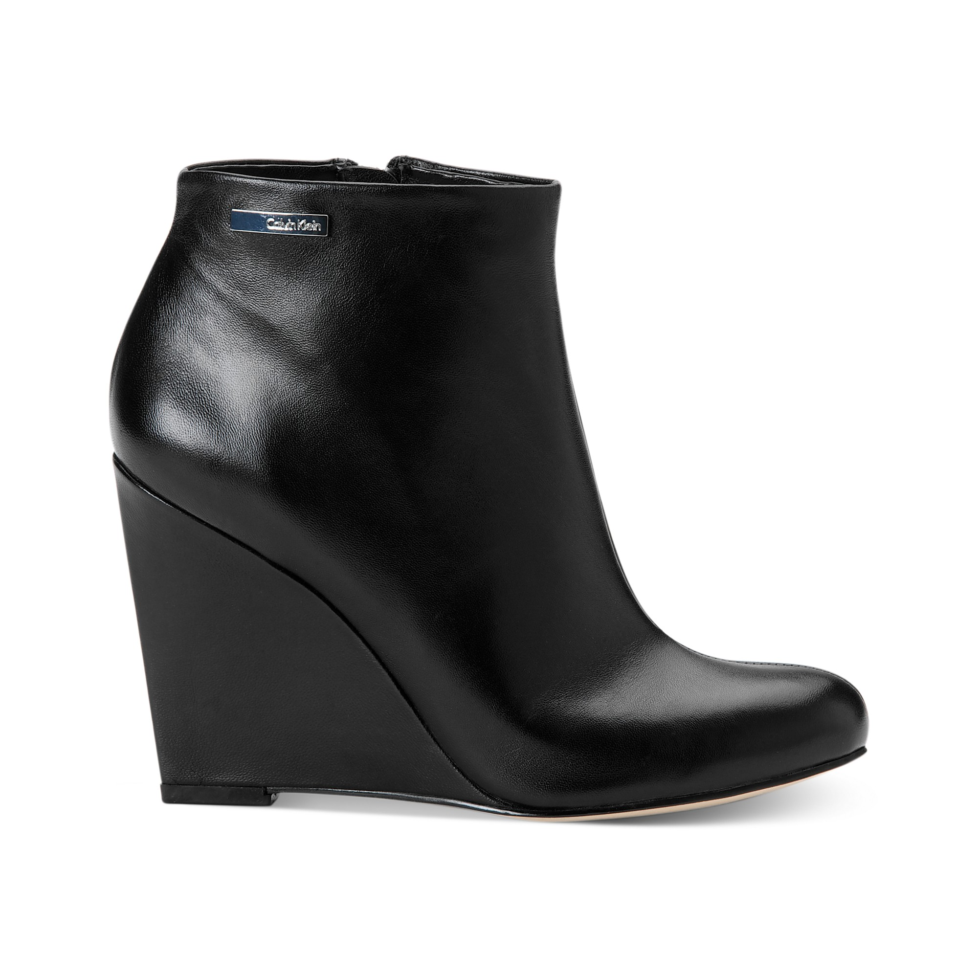 Find great deals on eBay for black leather wedge booties. Shop with confidence.