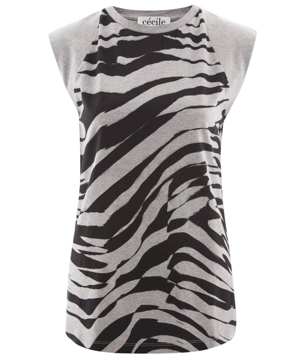 Zebra T Shirt Lyst - Être C�...