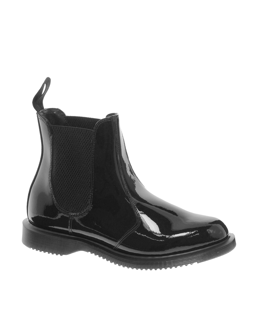 dr martens kensington faun chelsea boots in black lyst. Black Bedroom Furniture Sets. Home Design Ideas