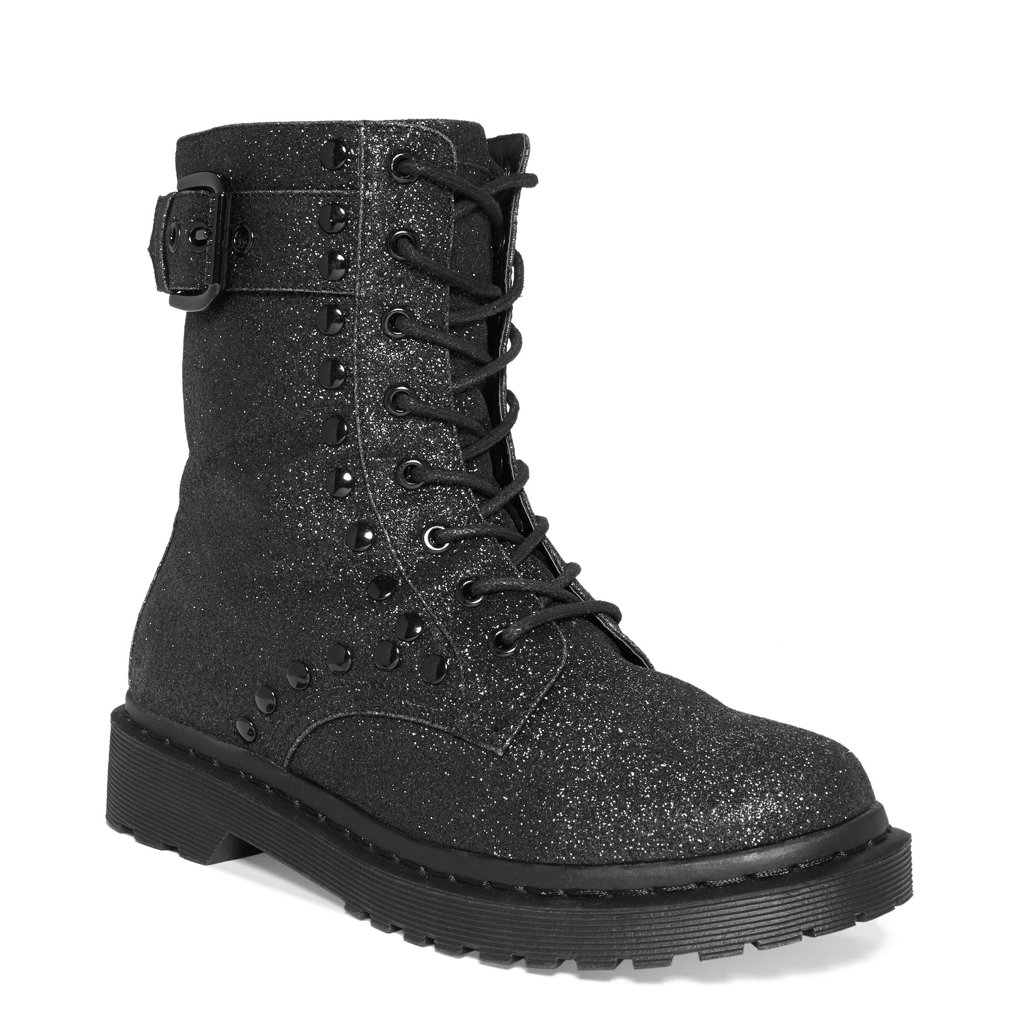 8eab6d5fad5f G by Guess G By Guess Boots Techno Glitter Booties in Black - Lyst