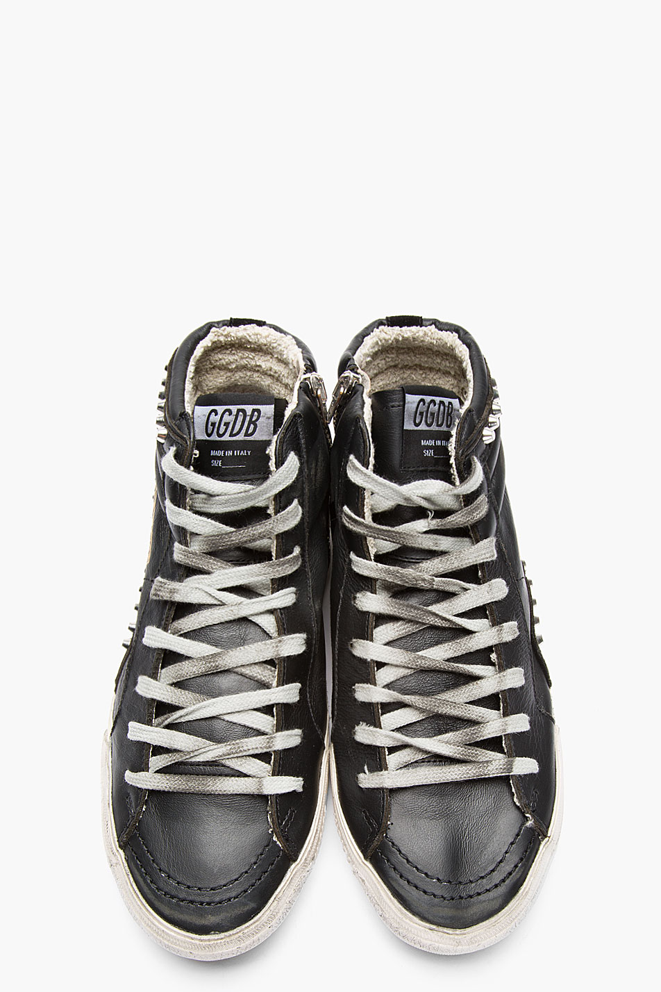 Golden Goose Mens 'super Star' Trainers in White - Cheap Golden Goose Outlet Sale